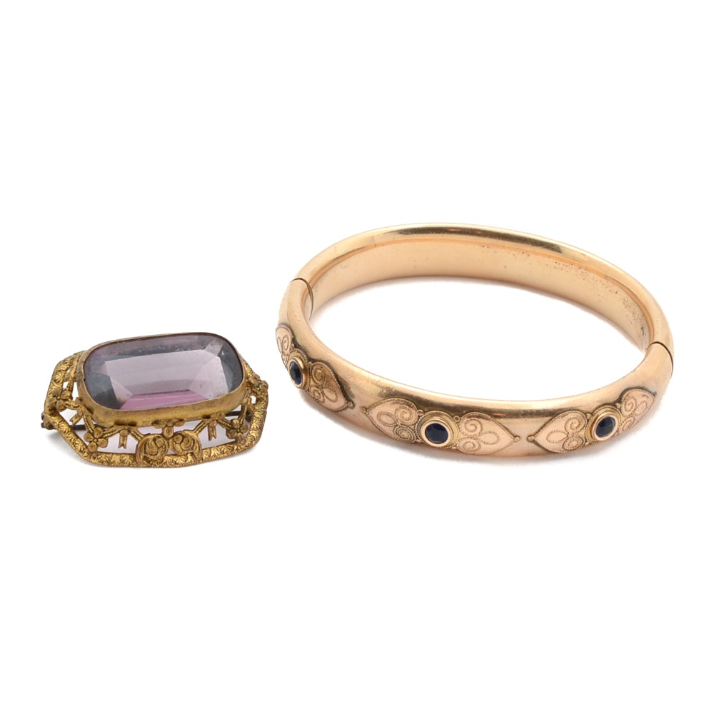 Vintage Gold-Filled Jewelry