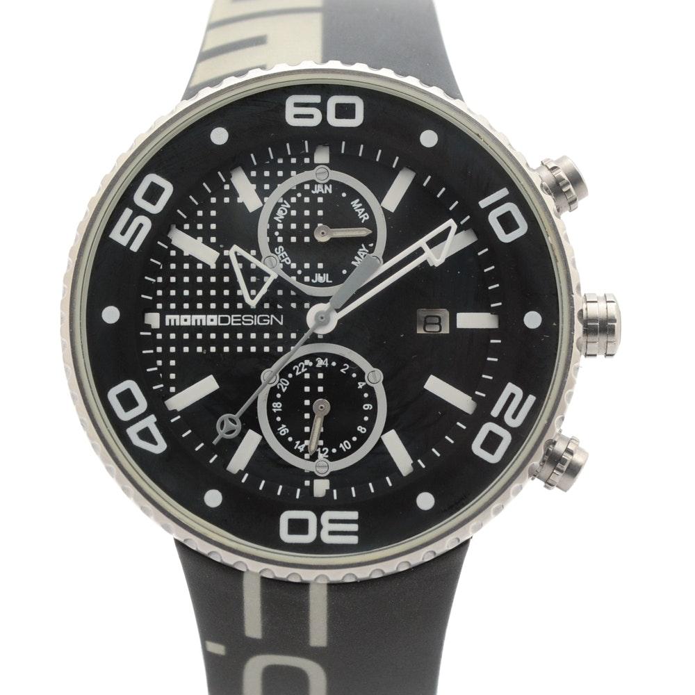 "Italian Momodesign ""Jet"" Chronograph Wristwatch"