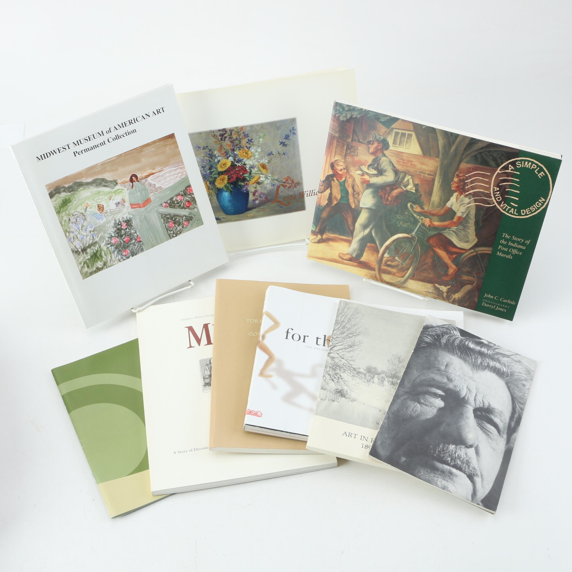 Indiana Art and Artists Books