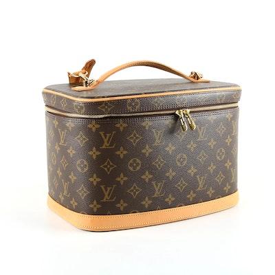 682255999b9d 2006 Louis Vuitton Monogram Canvas Nice Cosmetics Travel Case