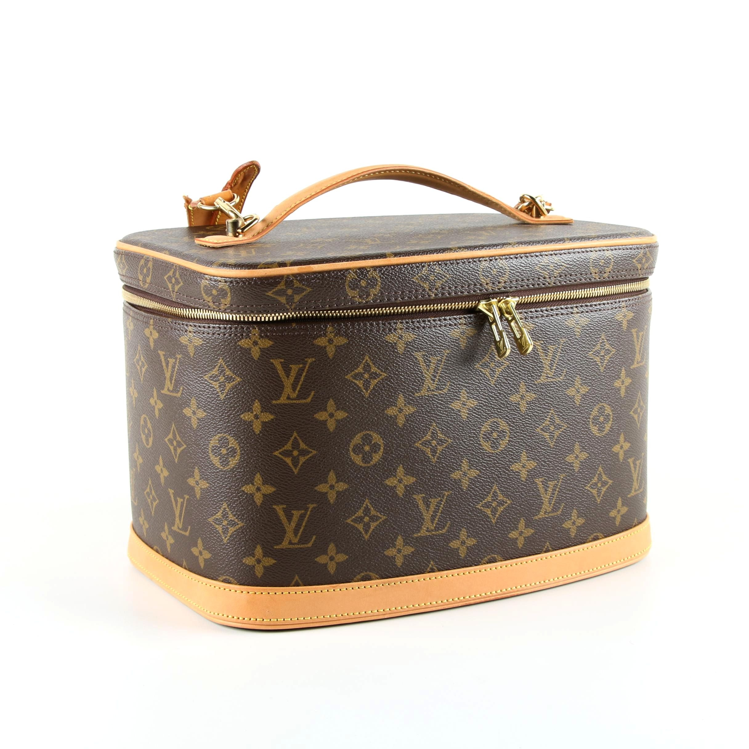 2006 Louis Vuitton Monogram Canvas Nice Cosmetic Travel Case