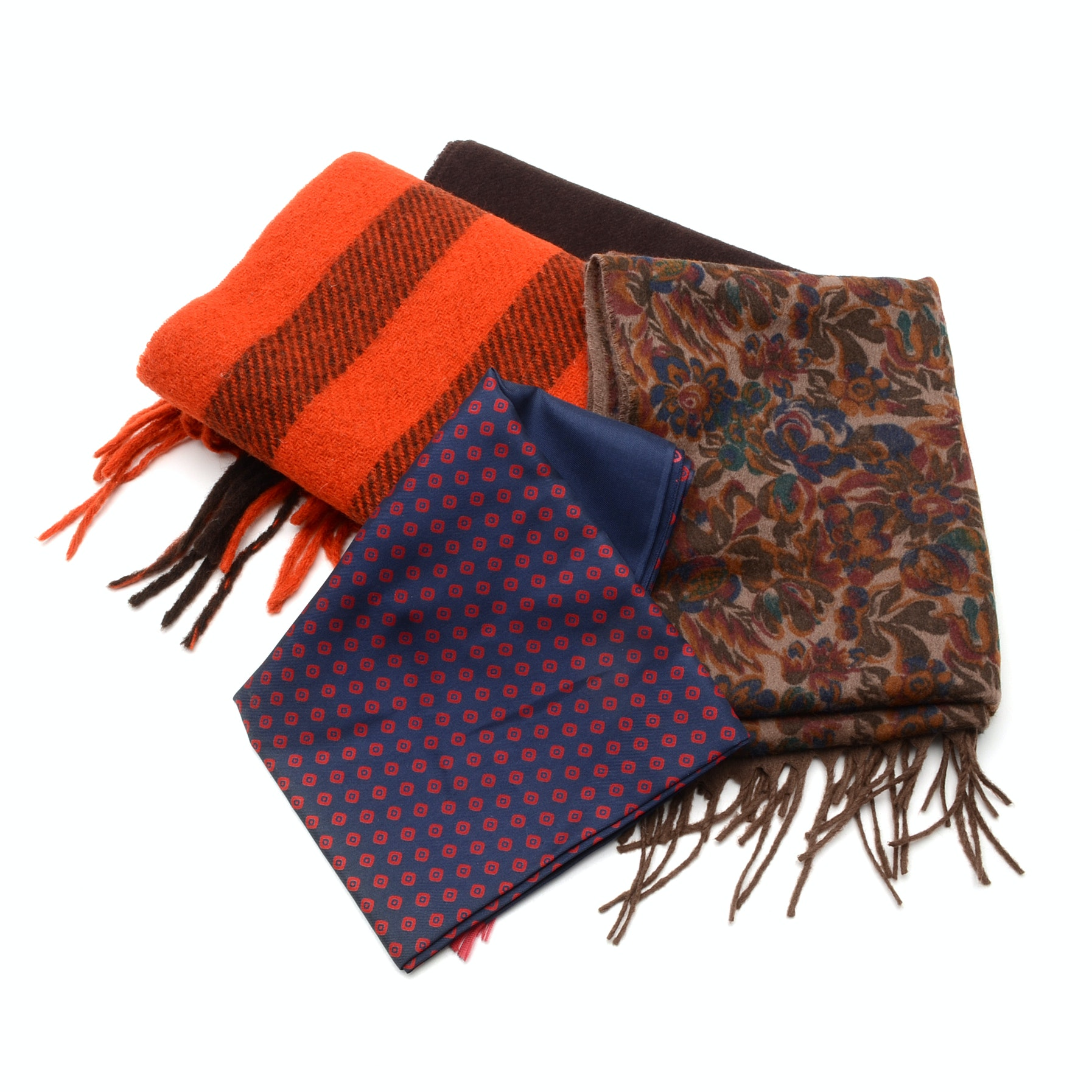 Group of Men's Scarves and Mufflers