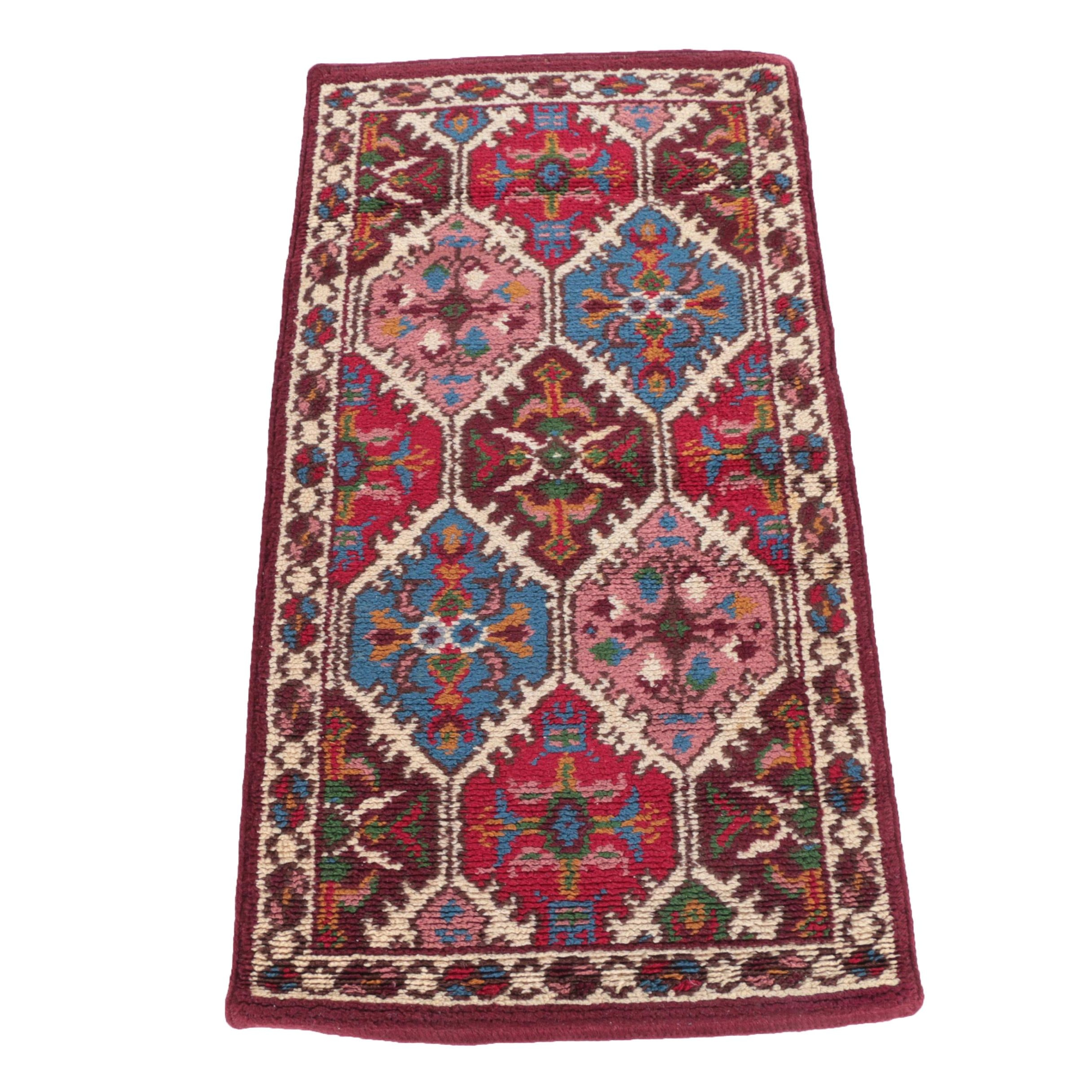 Power-Loomed Persian-Style Wool Accent Rug