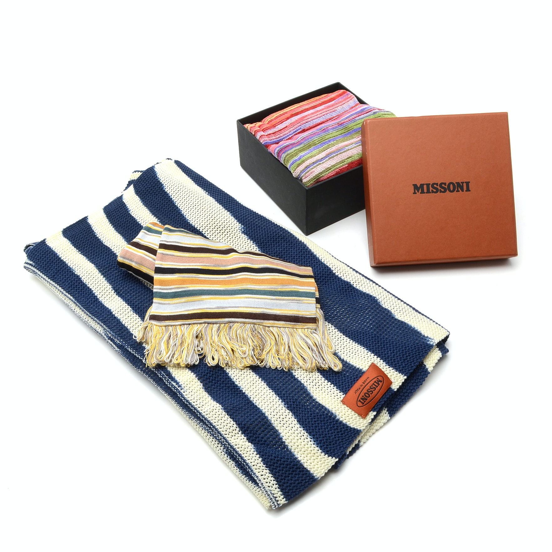 Missoni Towels and Scarves