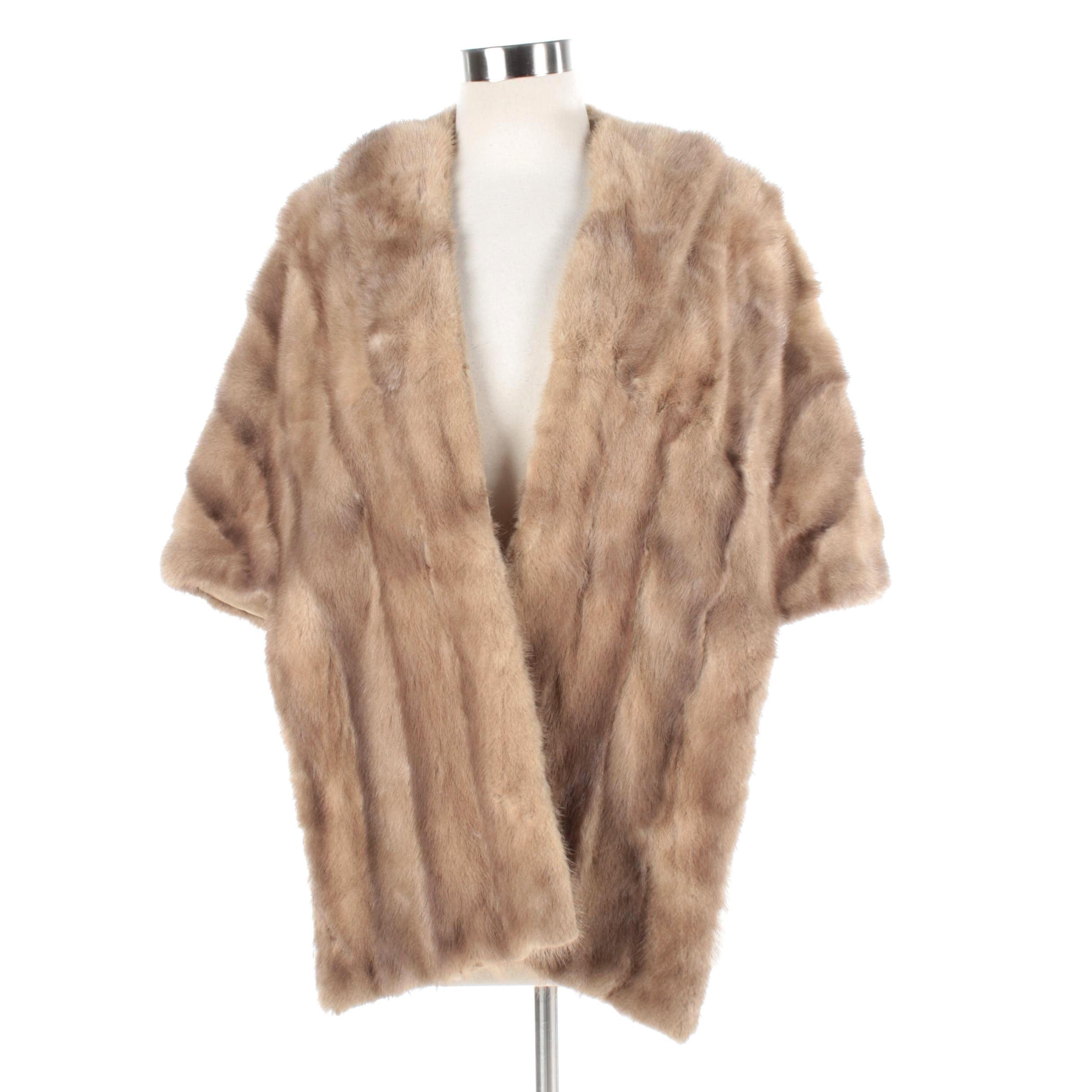 Women's Vintage Mink Fur Stole
