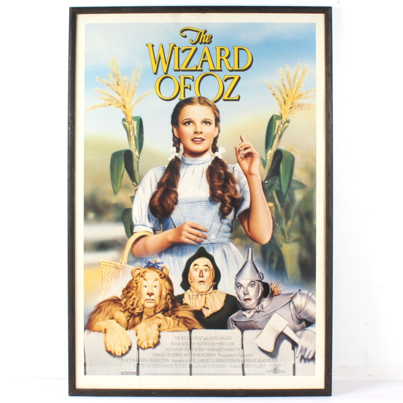 "Reproduction Movie Poster ""The Wizard Of Oz"""