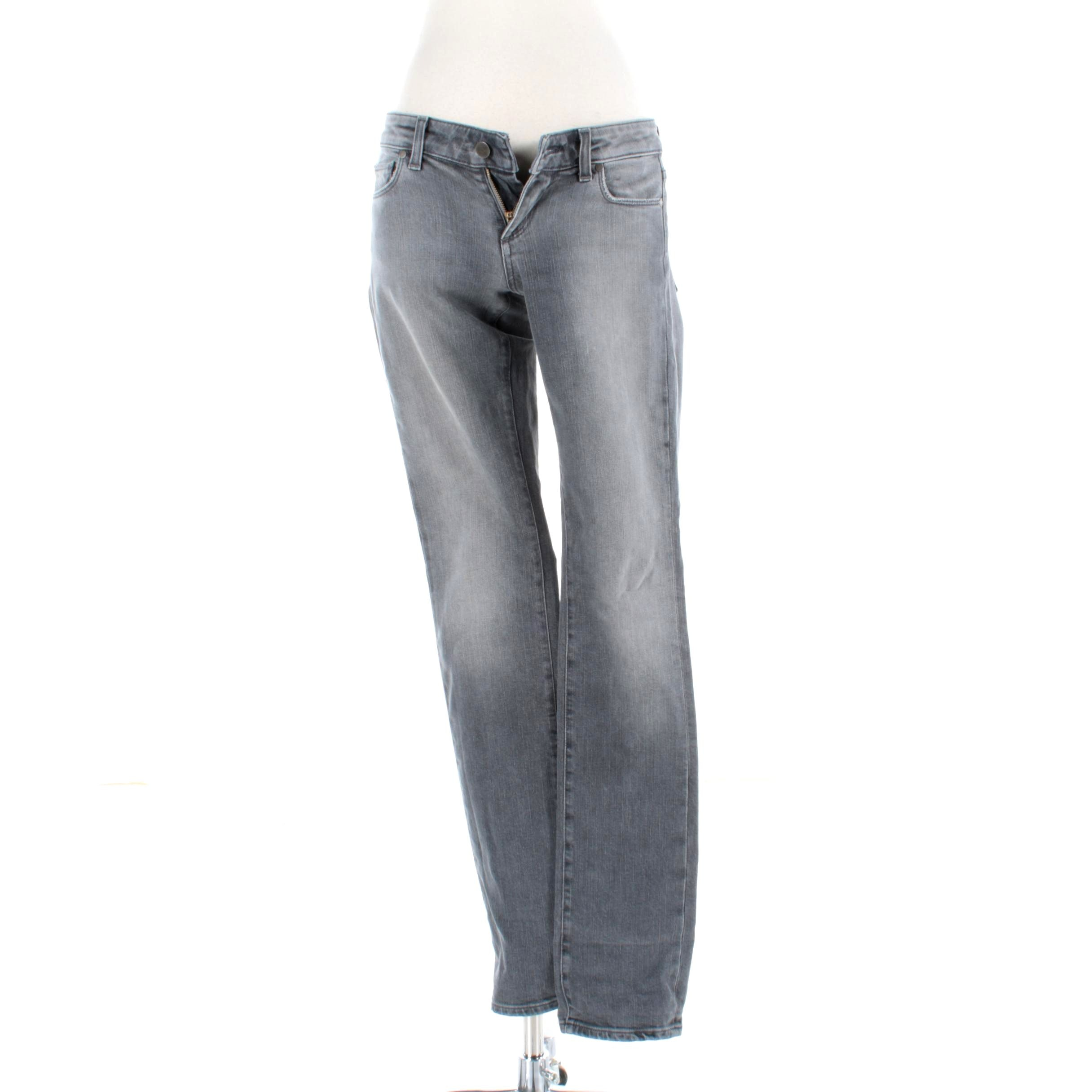 Women's Paige Blue Heights Boot Cut Jeans