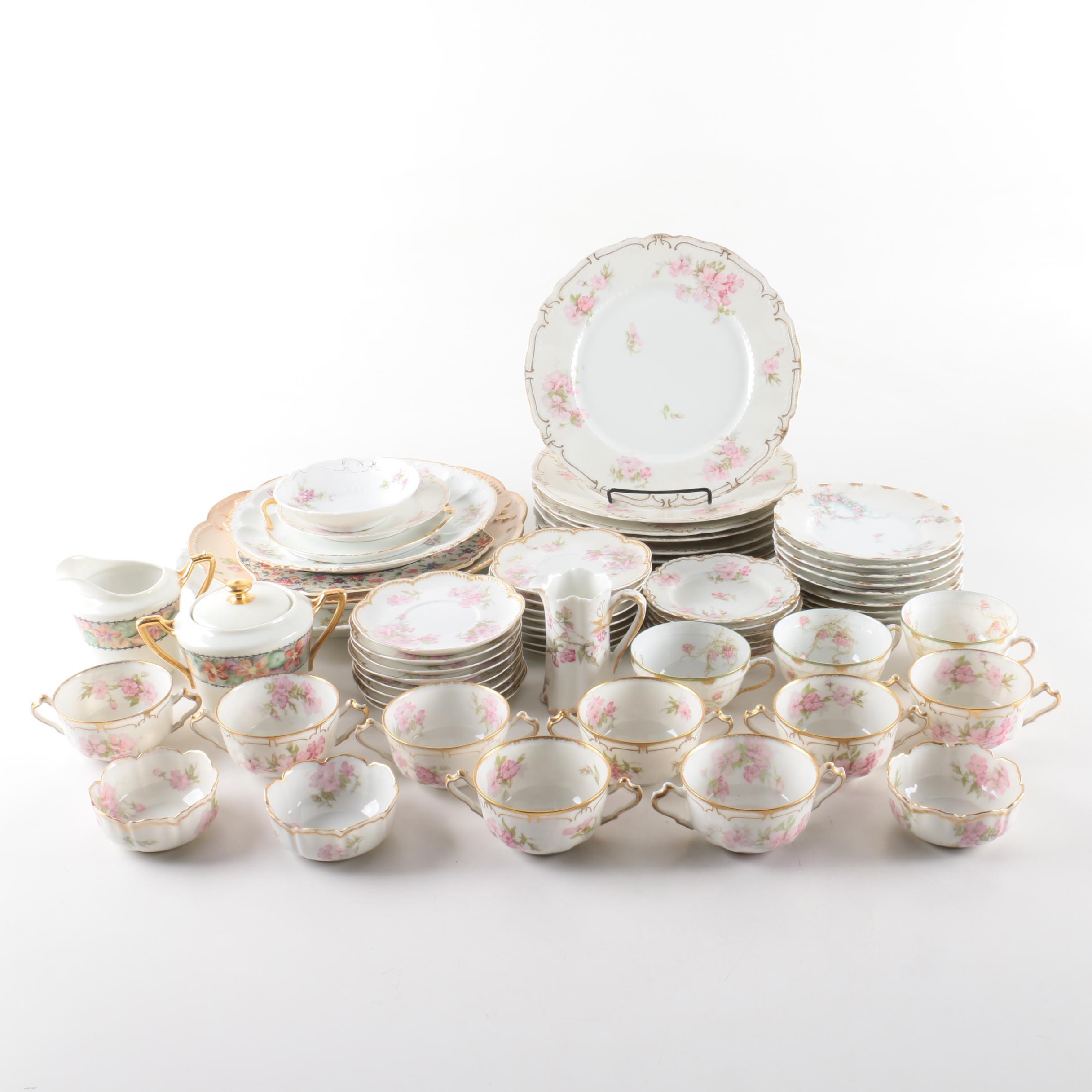 Vintage Haviland Limoges Porcelain Tableware