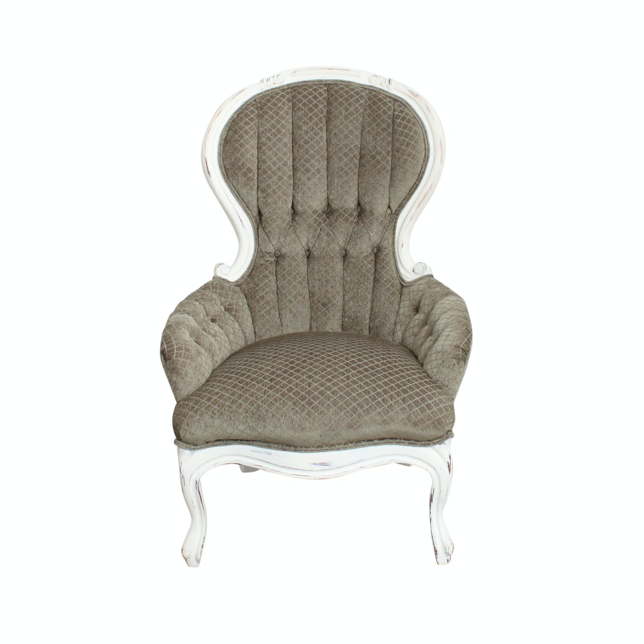 Painted Victorian Style Armchair