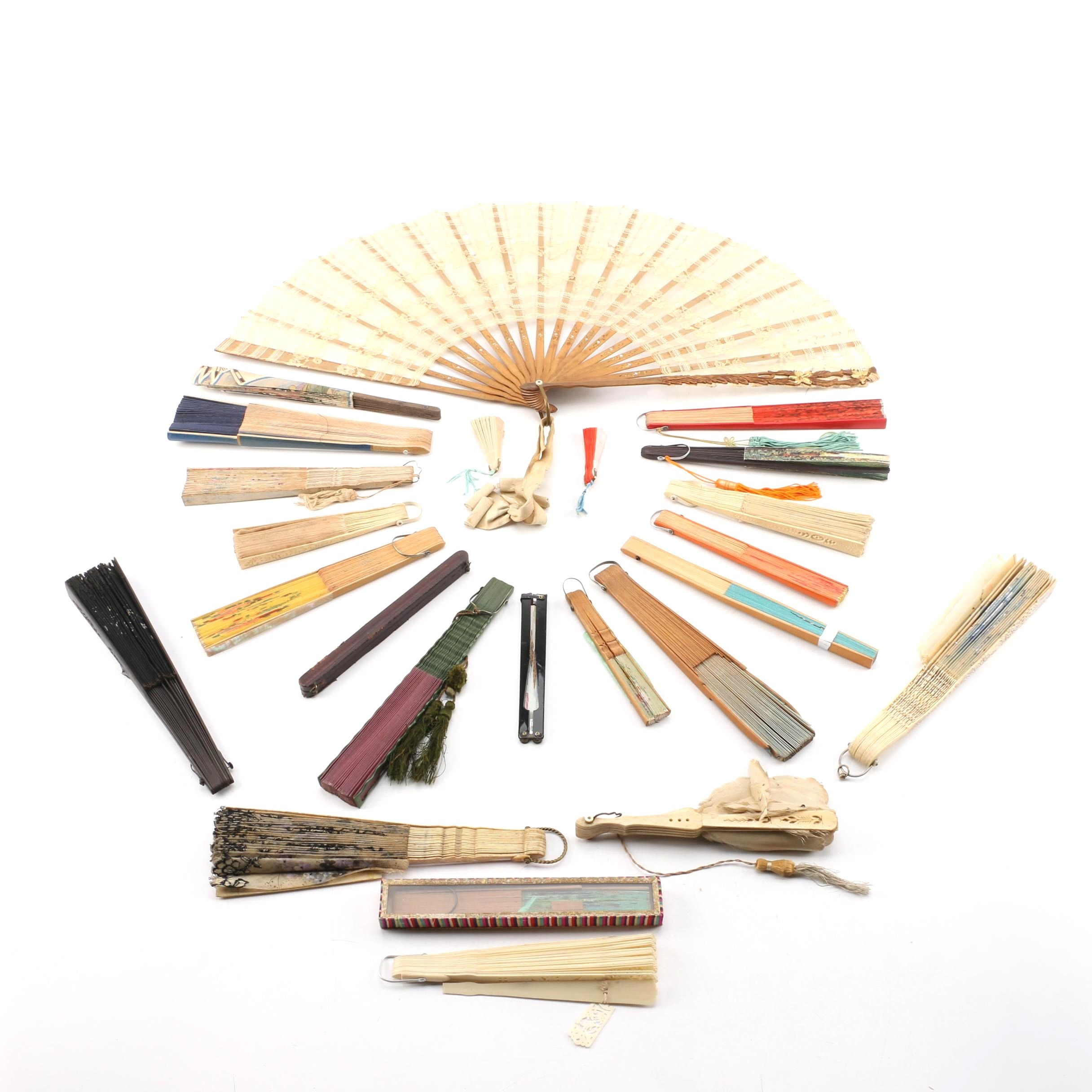 Vintage Hand Fan Collection