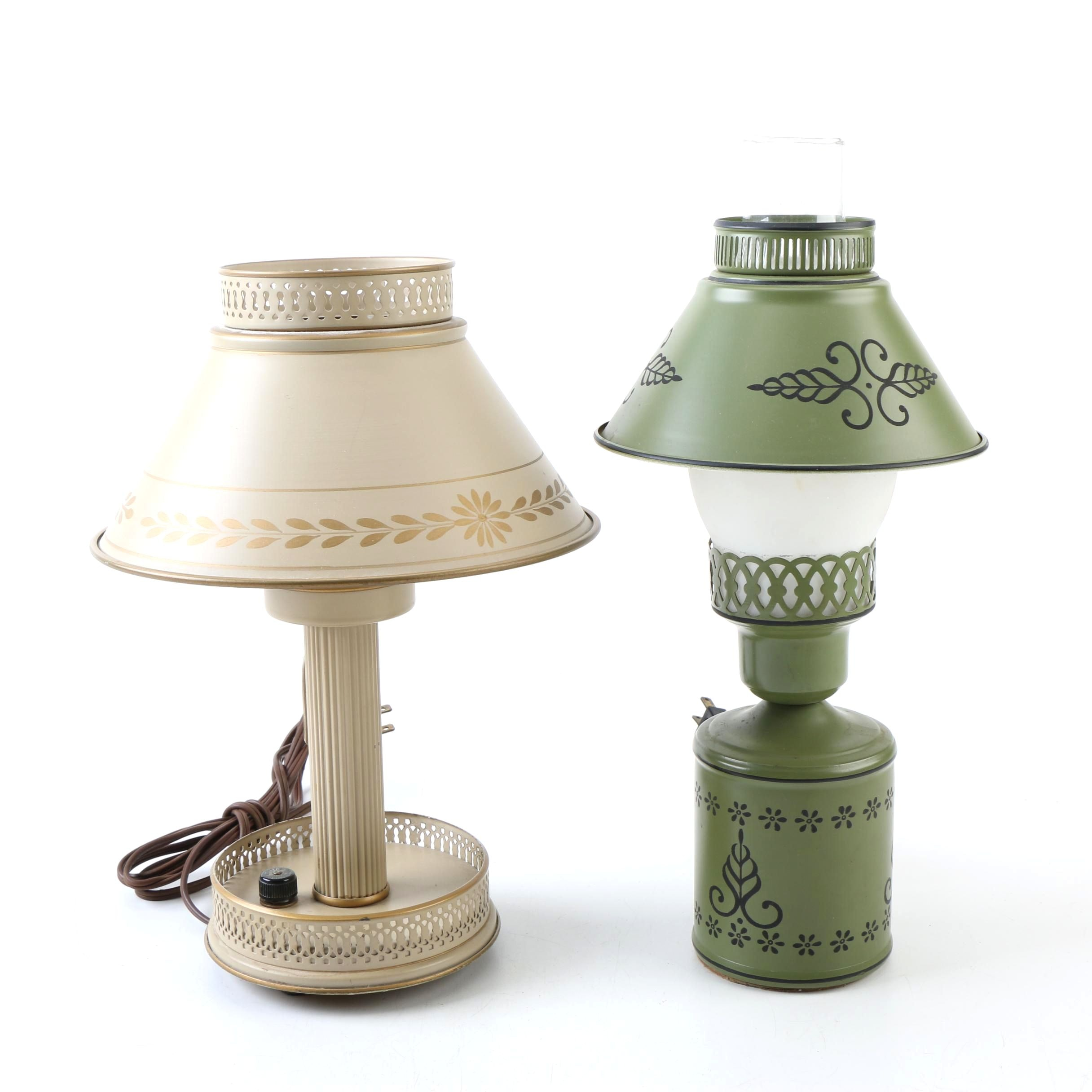 Metal Accent Lamps