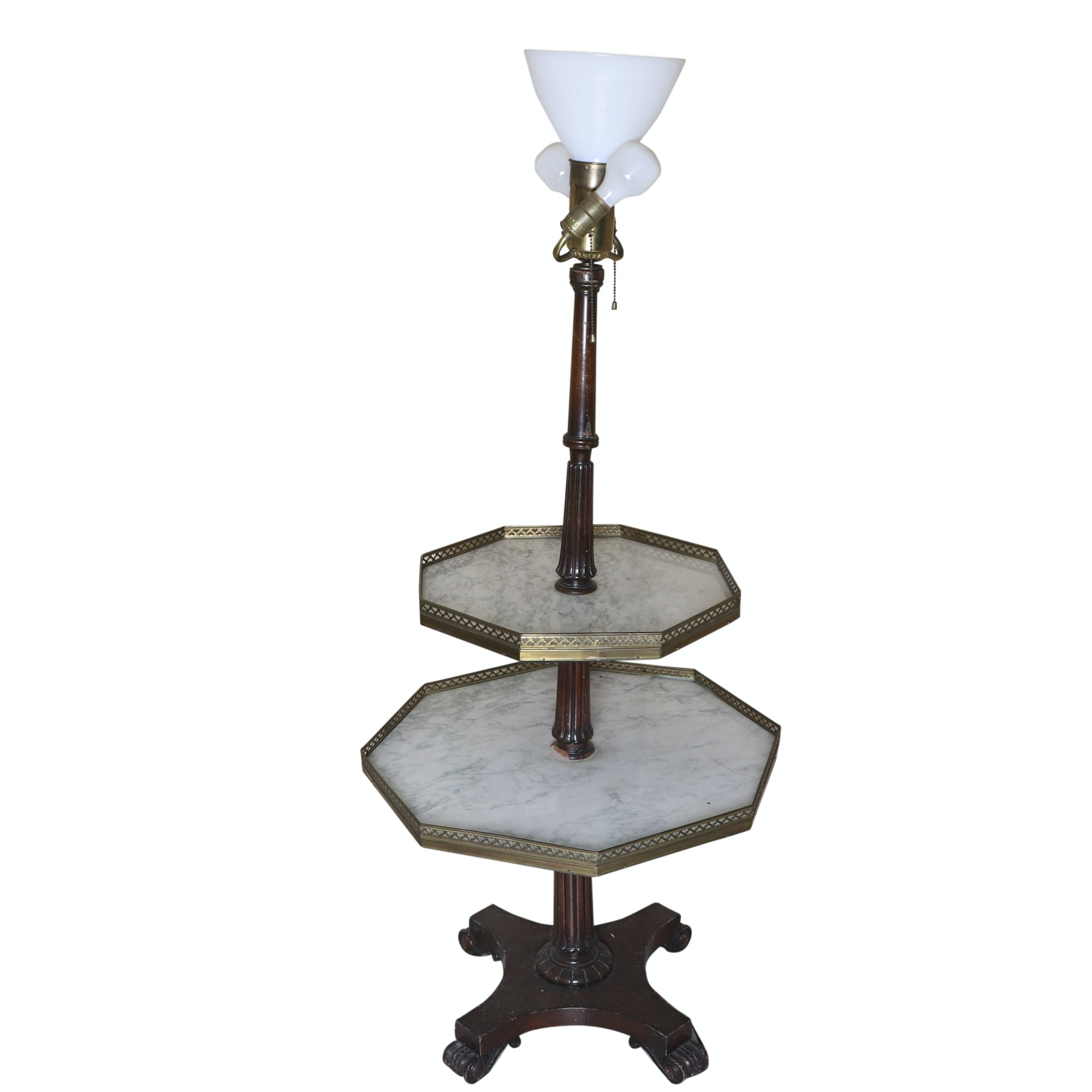 Tray Table Floor Lamp