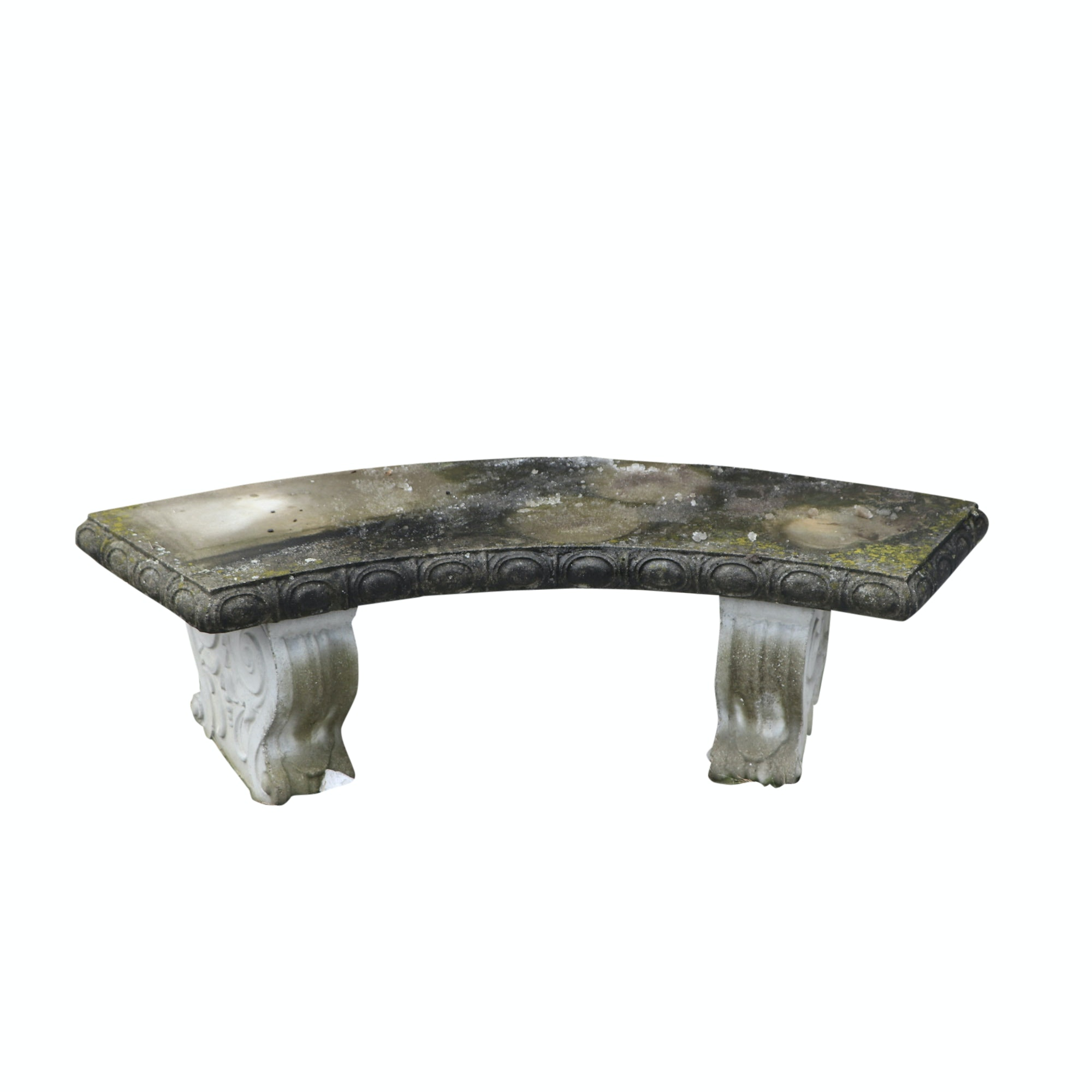 Cast Concrete Garden Bench