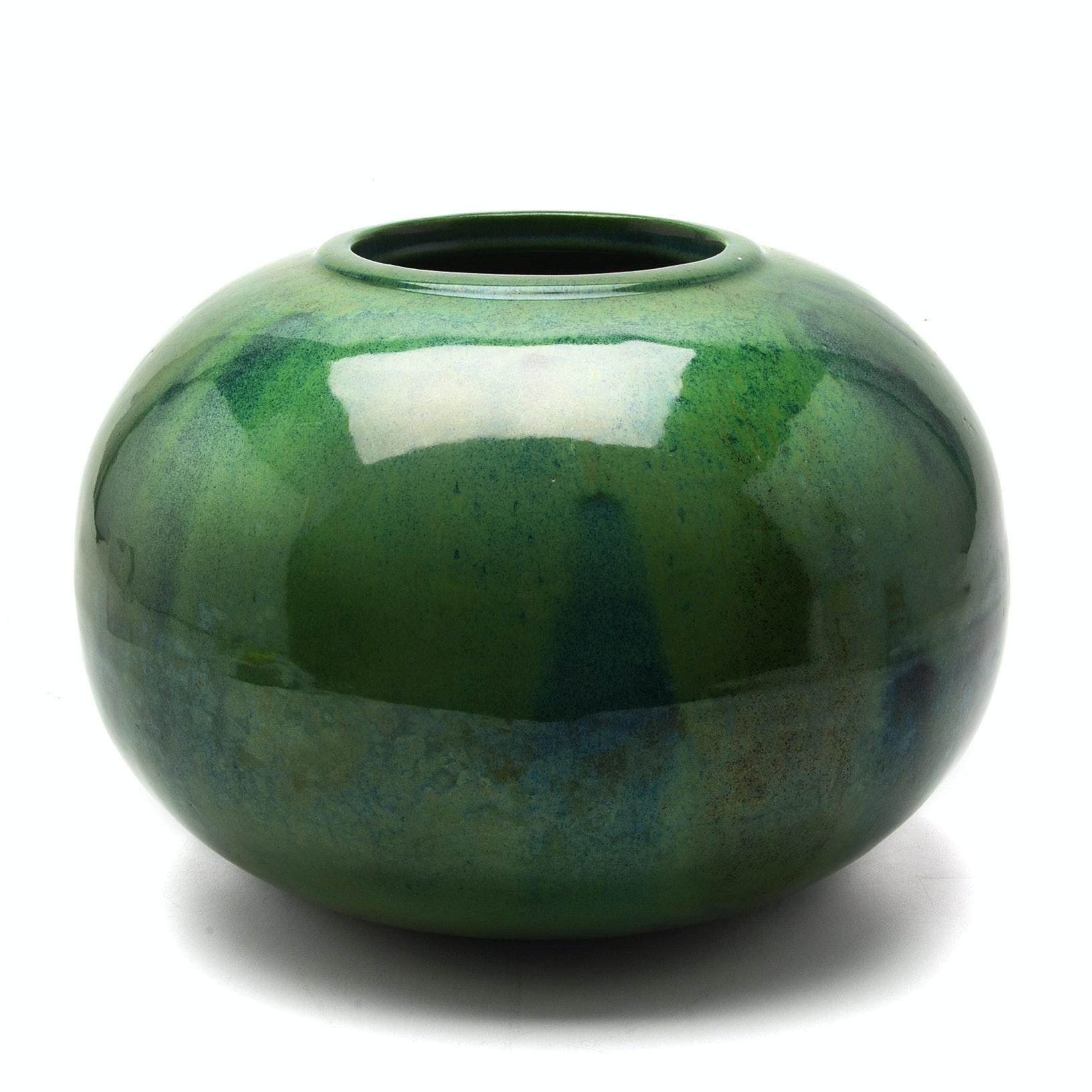 Mid Century Modern William And Polia Pillin Vase