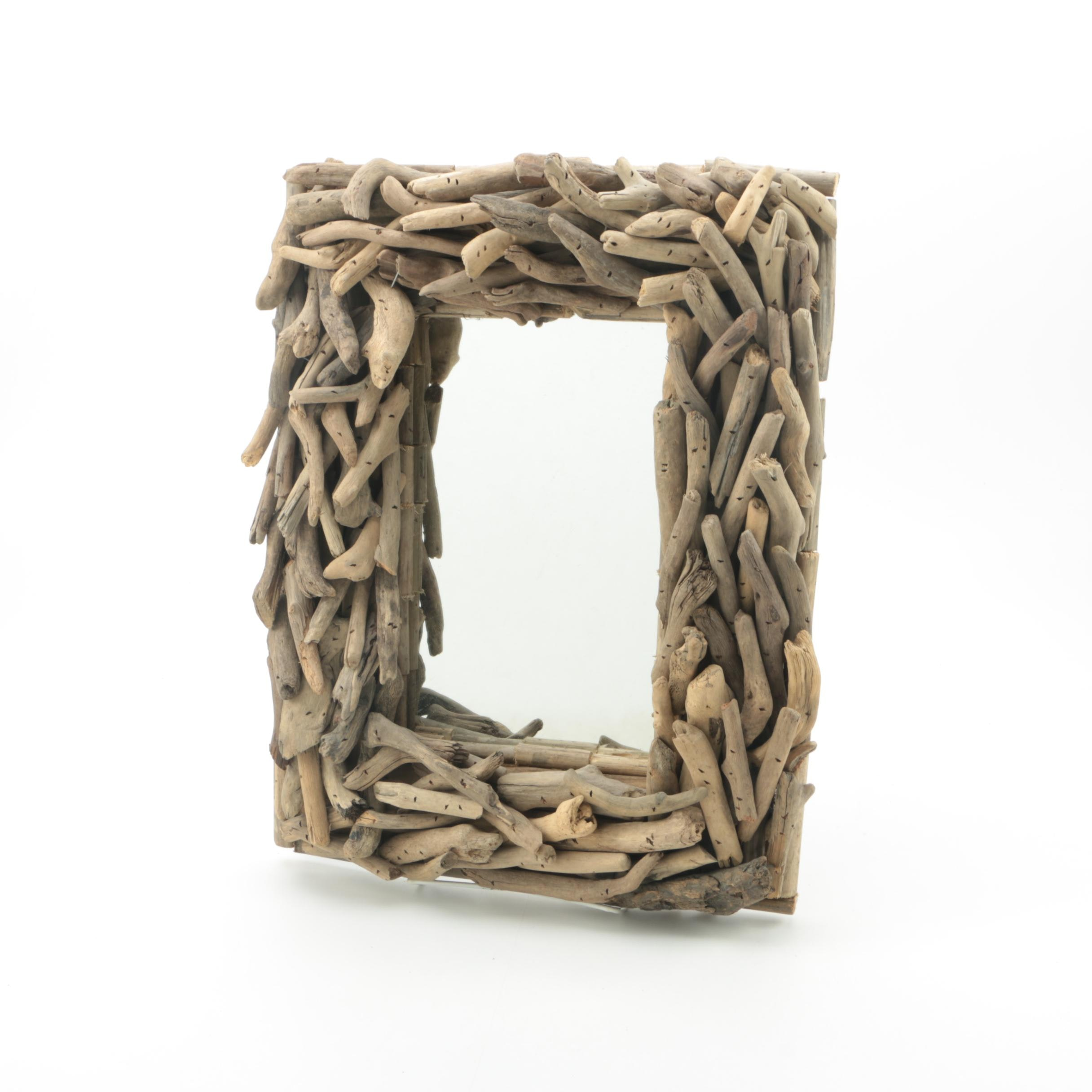 Driftwood Framed Wall Mirror