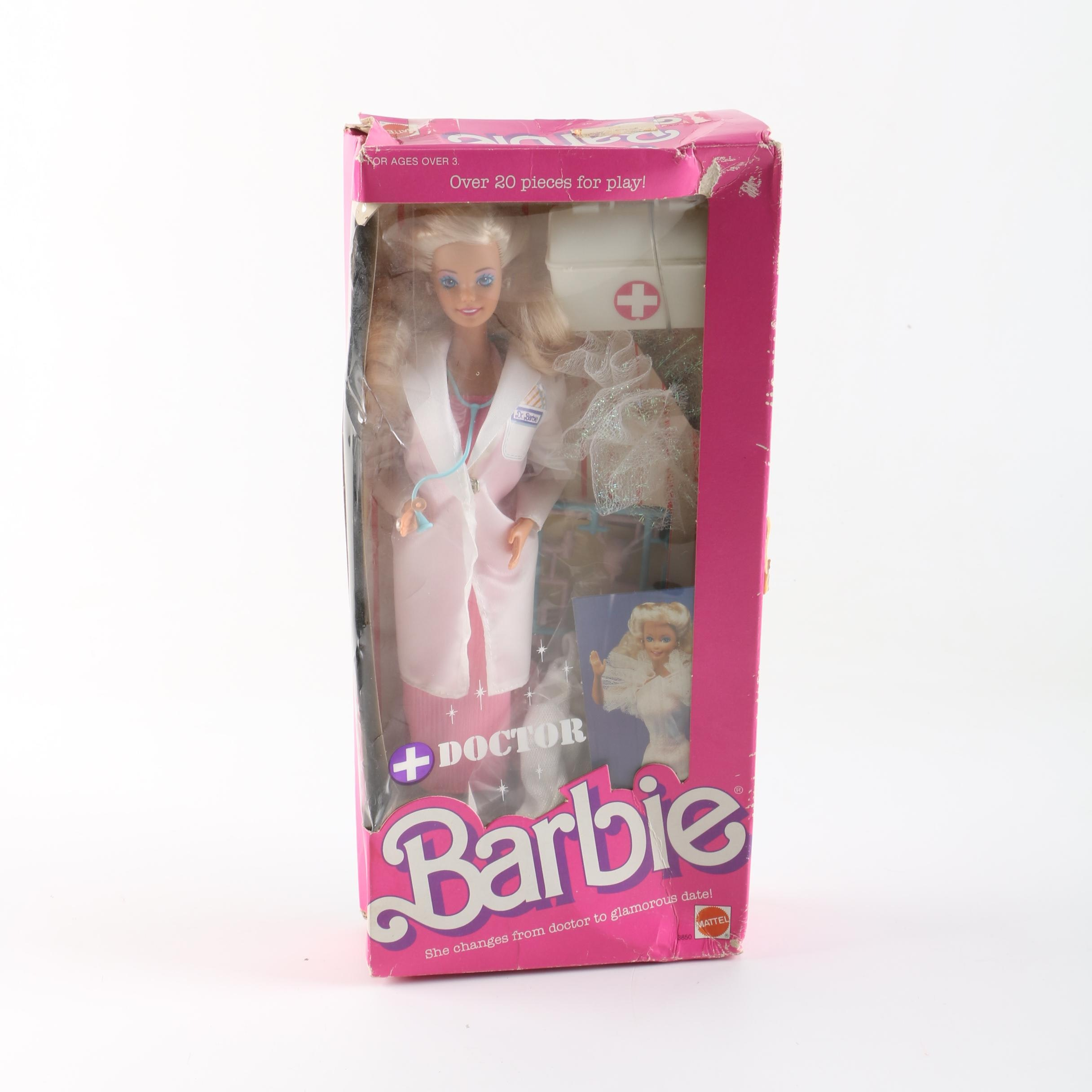 "1987 Mattel ""Doctor Barbie"" Doll"