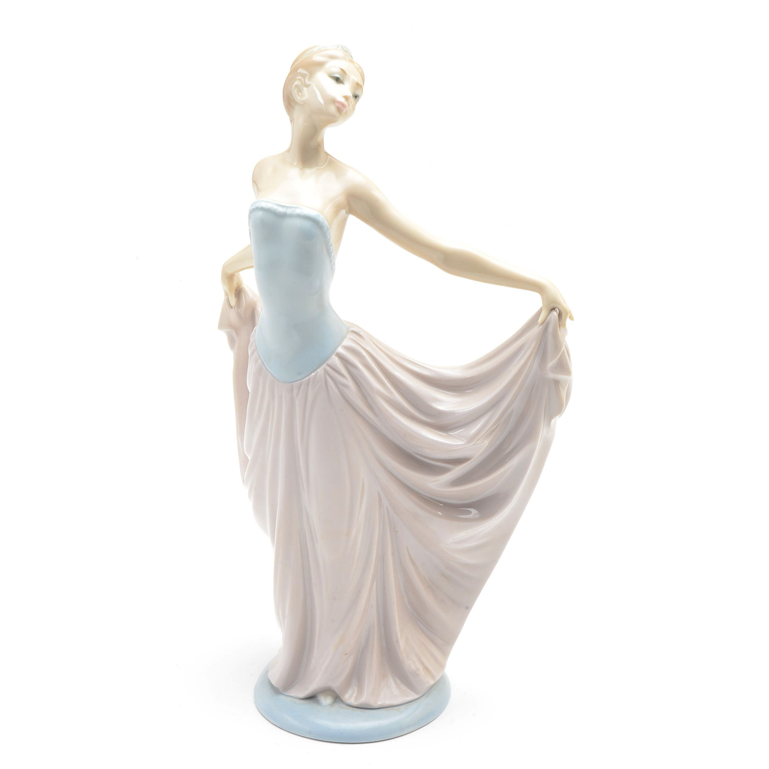 "Lladro Porcelain Figurine - ""The Dancer"" #5050"