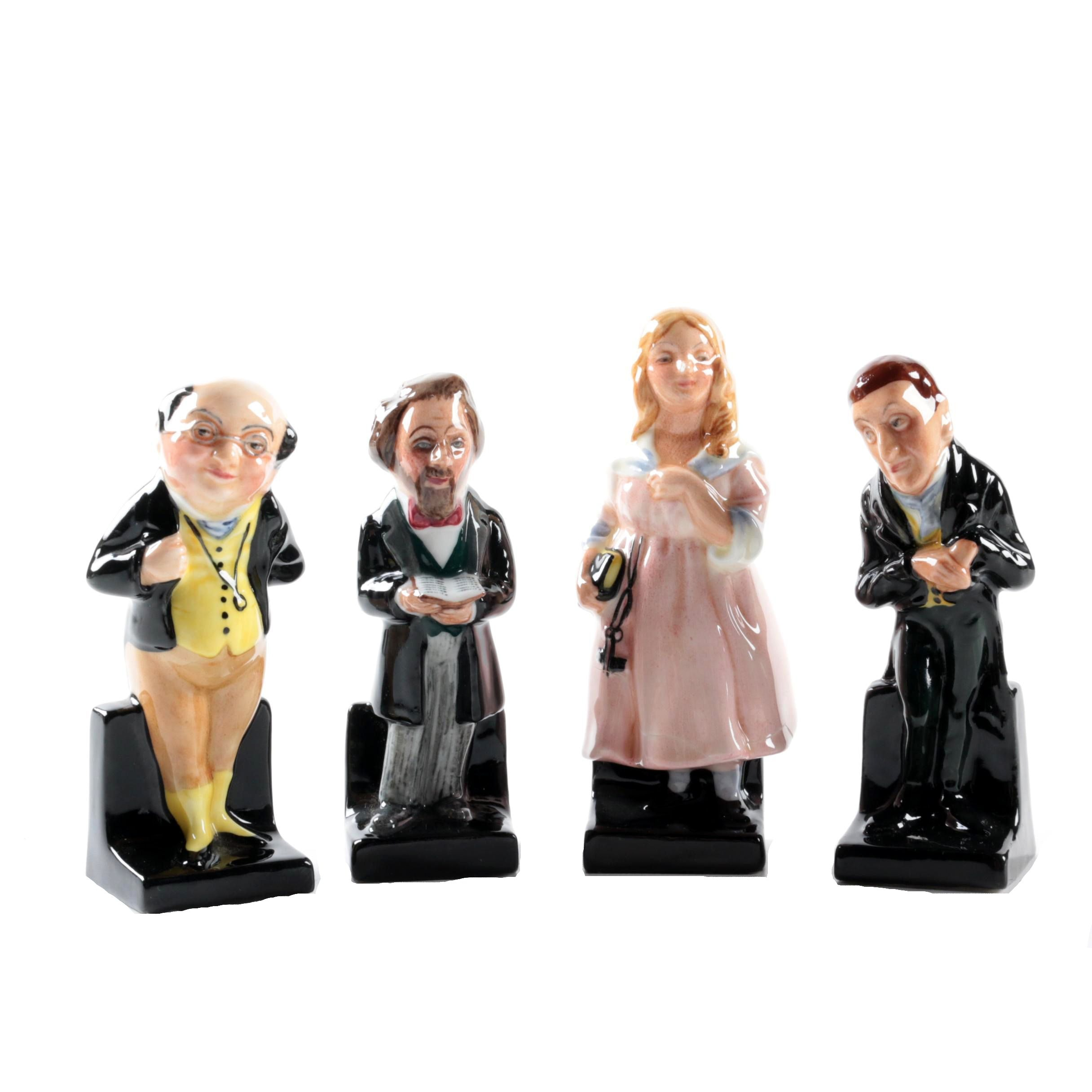"""Royal Doulton """"Charles Dickens"""", """"Little Nell"""", """"Pickwick"""" and """"Urlah Heep"""""""
