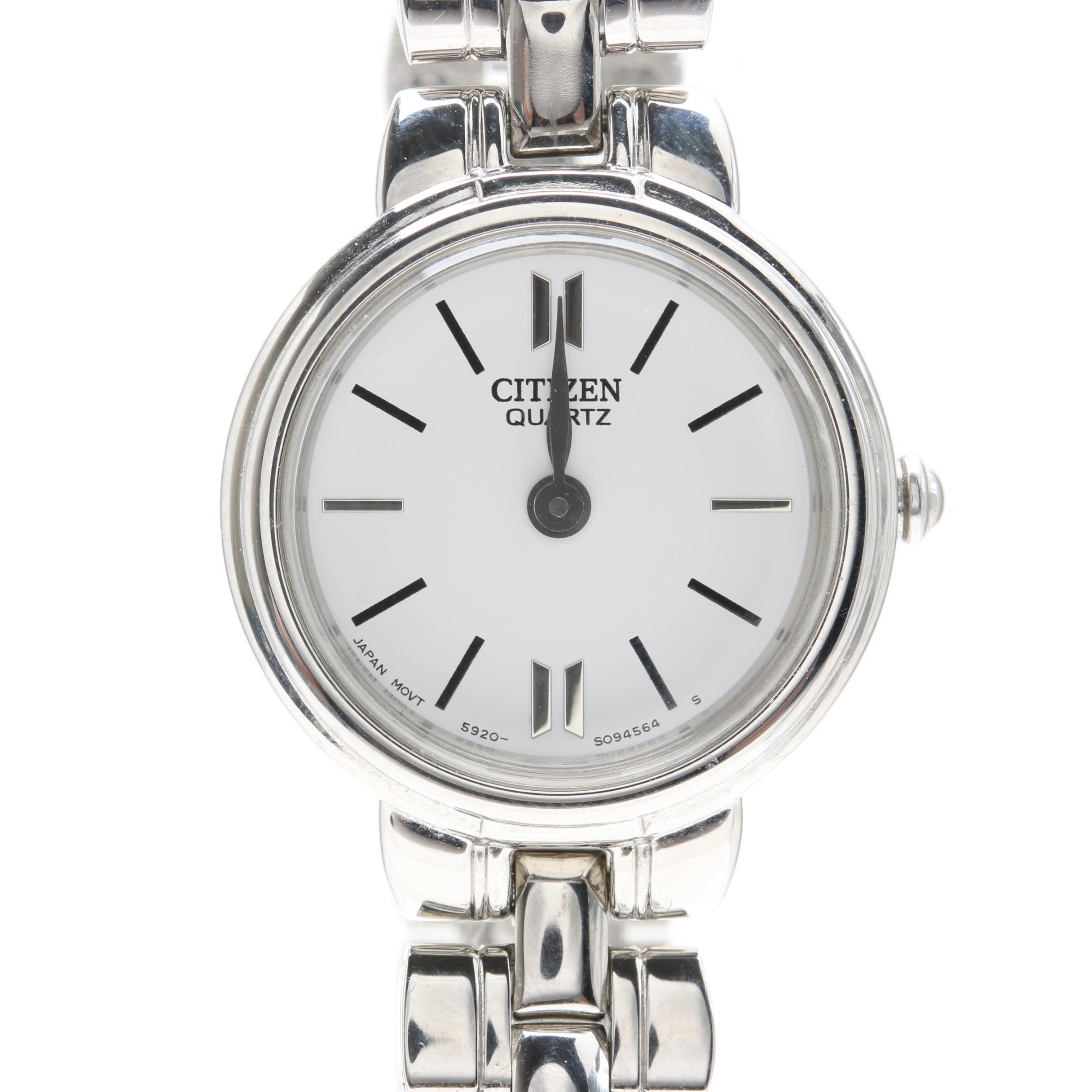 Citizen Siver Tone Wristwatch