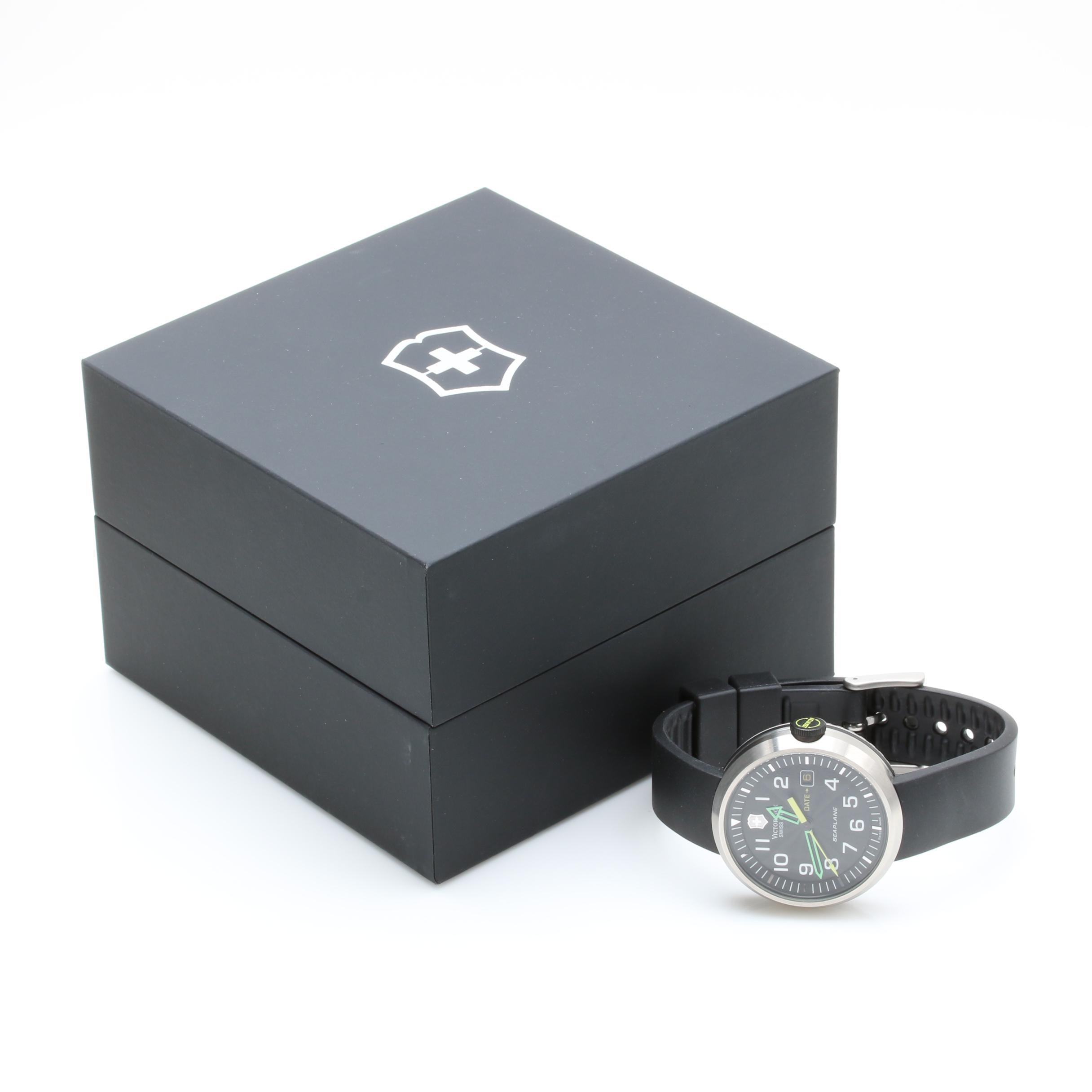 Swiss Army Silver Tone Air Force Wristwatch