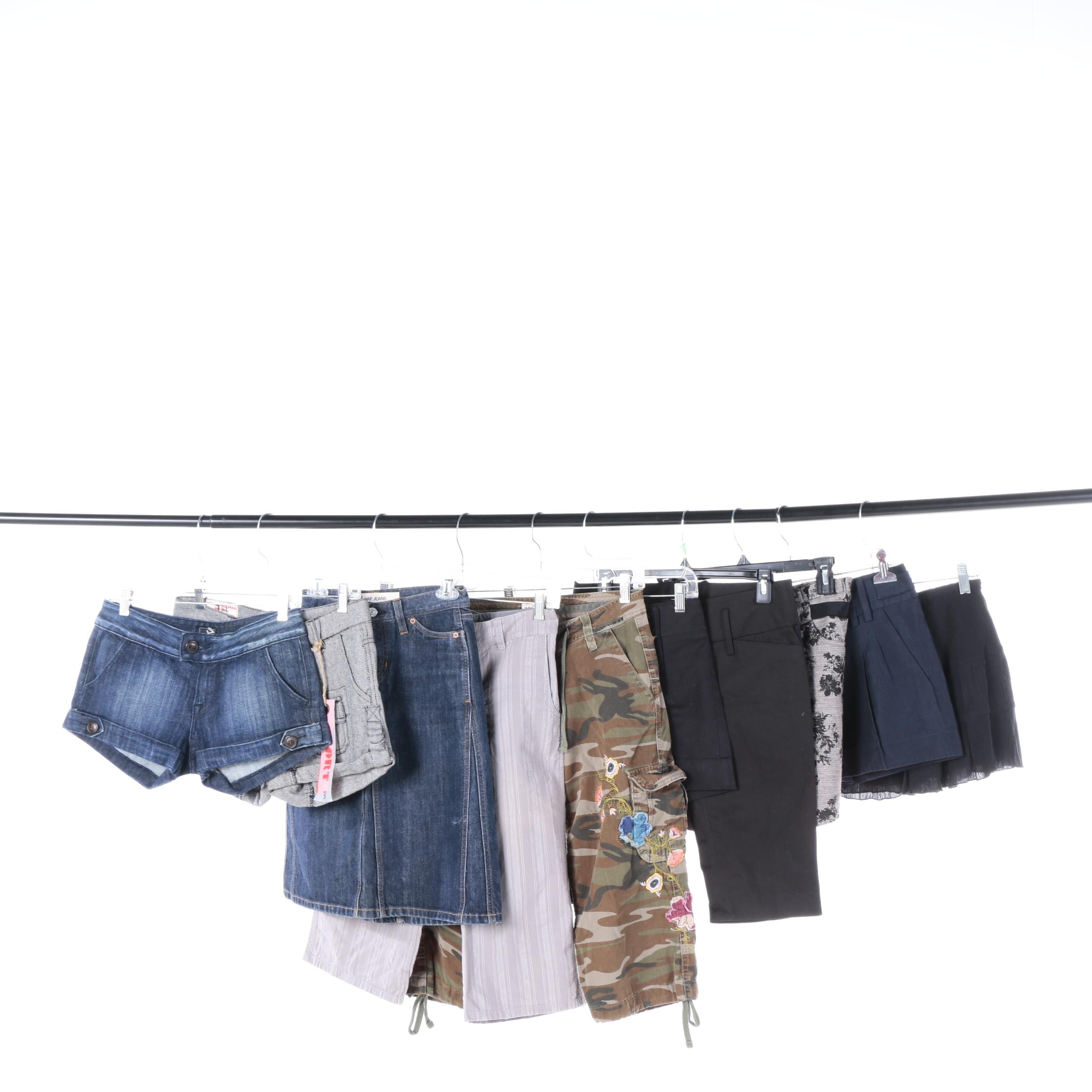 Women's Shorts, Capris and Skirts Including Free People and Old Navy