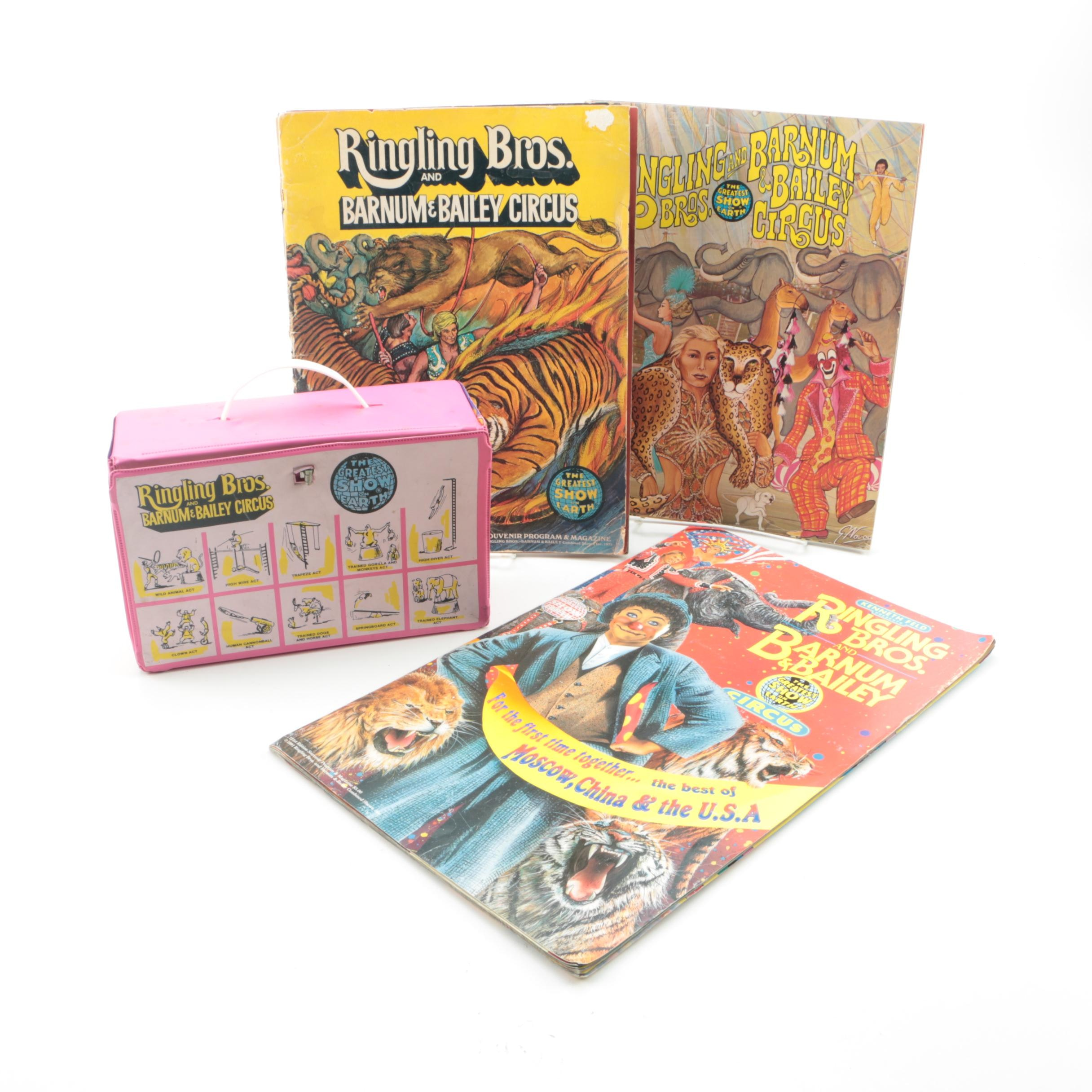Ringling Bros. and Barnum & Bailey Circus Souvenir Programs and Play Set