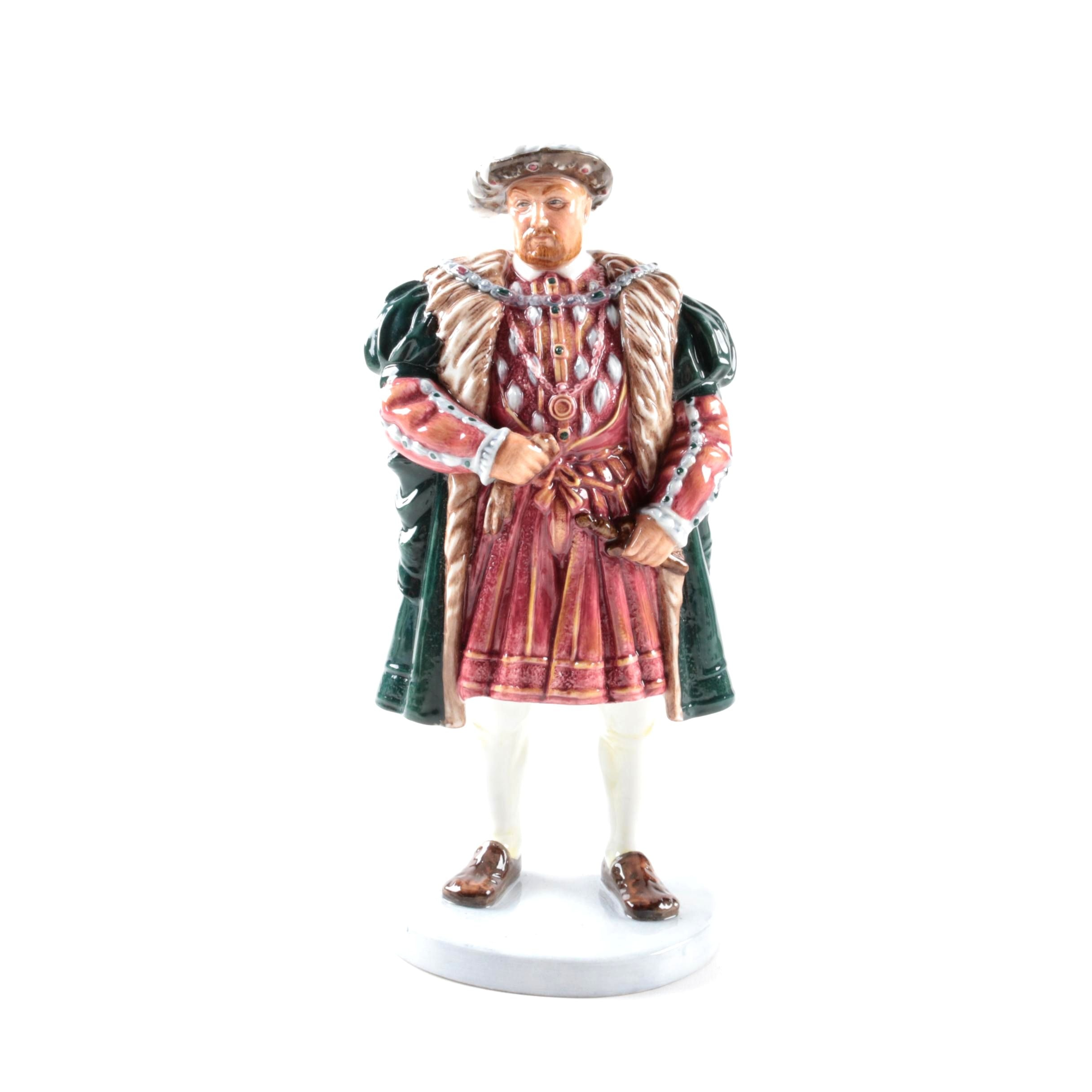 "Royal Doulton Limited Edition Porcelain ""Henry VIII"" Figurine"