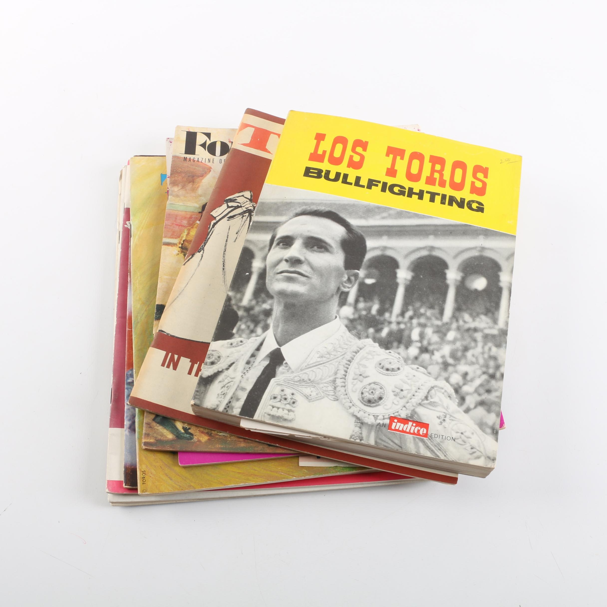 "1964 ""Toros"" and Other Magazines on Bullfighting"