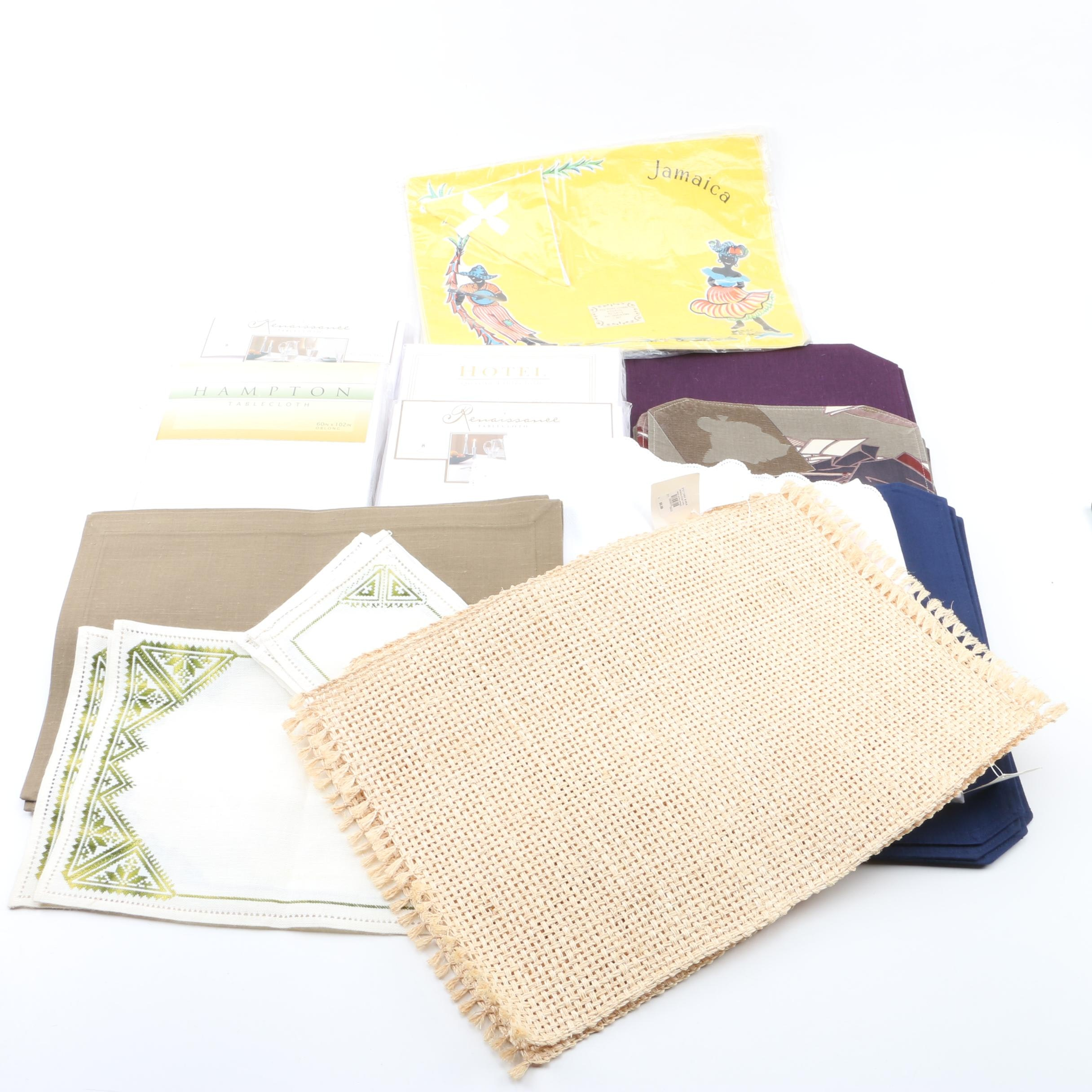 Assorted Tablecloths and Placemats