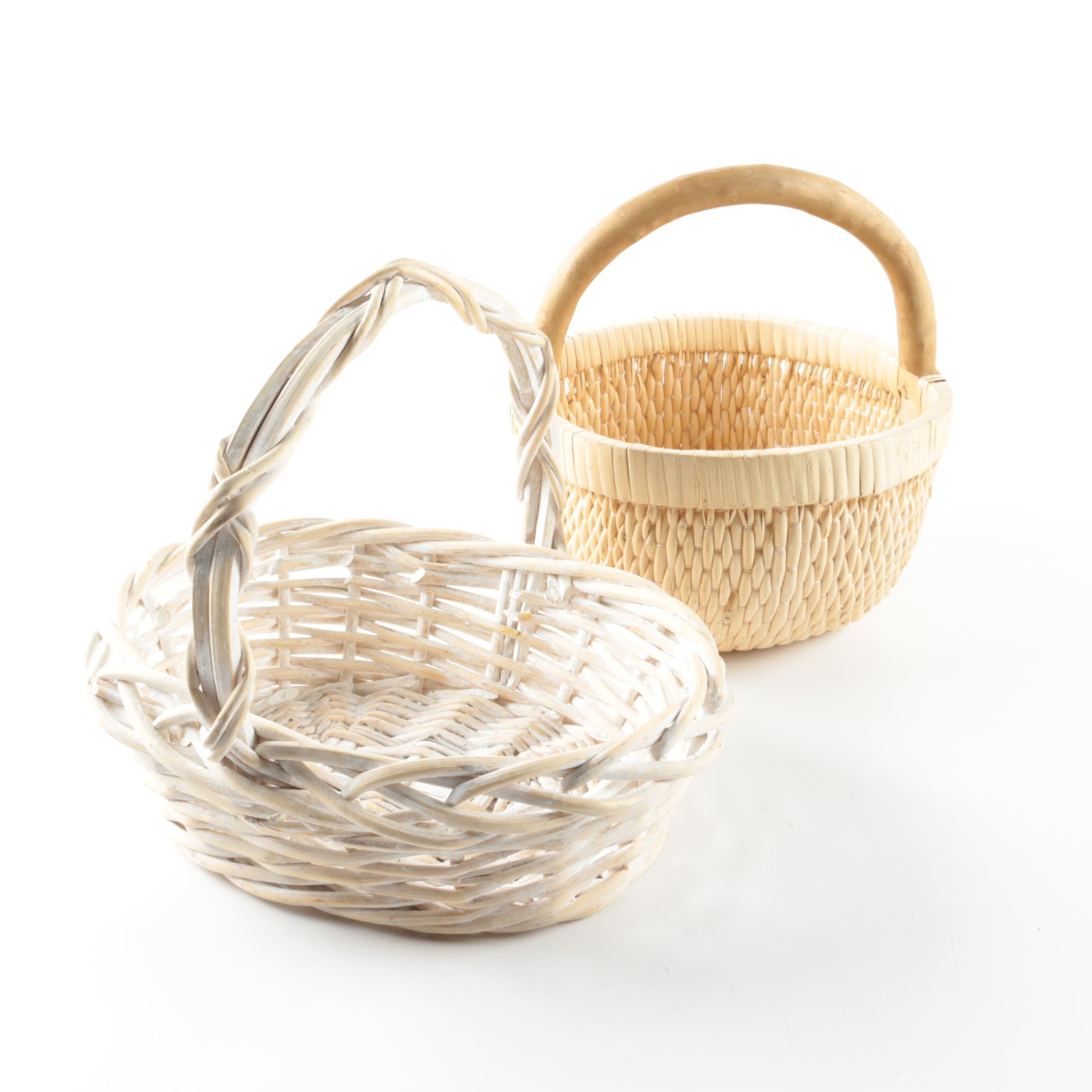 Handled Woven Baskets