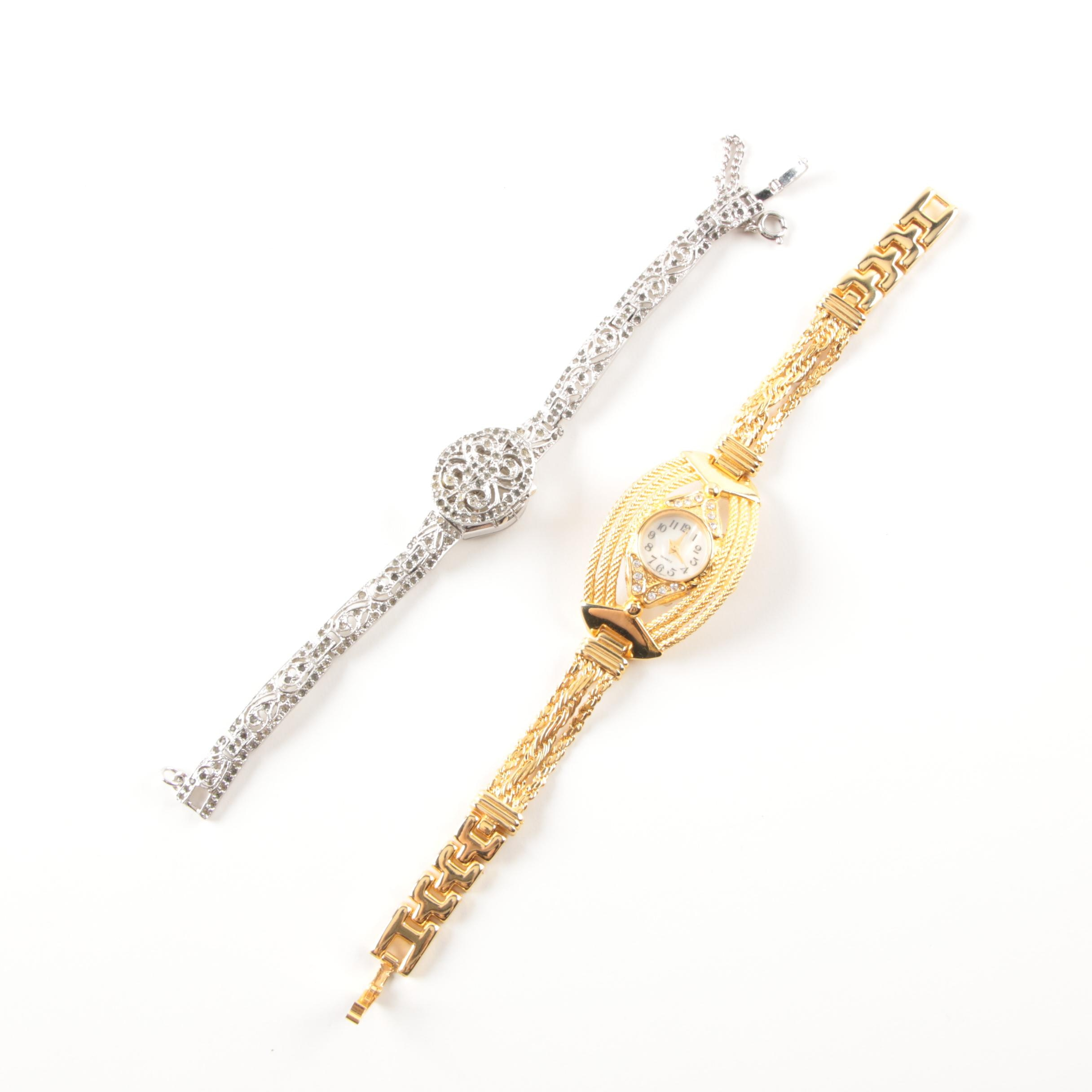 Pair of Fashion Wristwatches