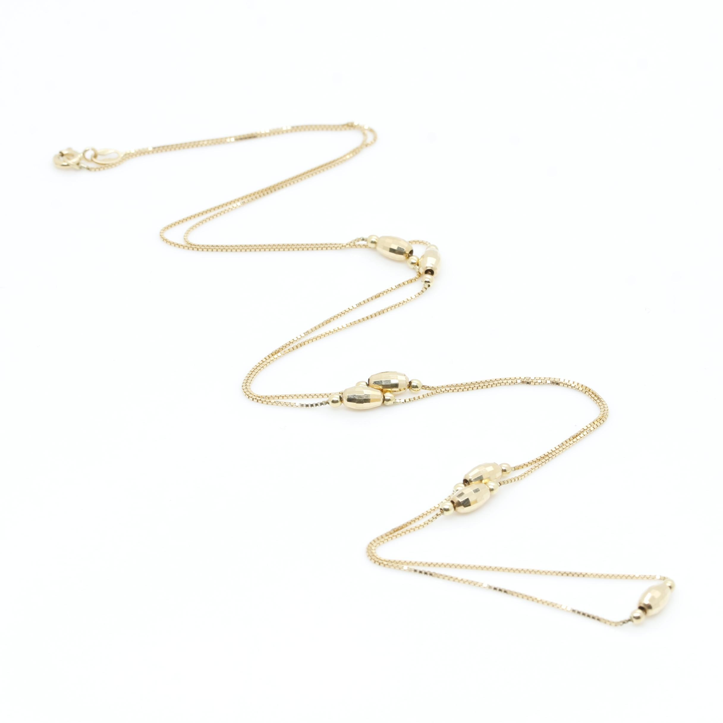 Milor 18K Yellow Gold Necklace
