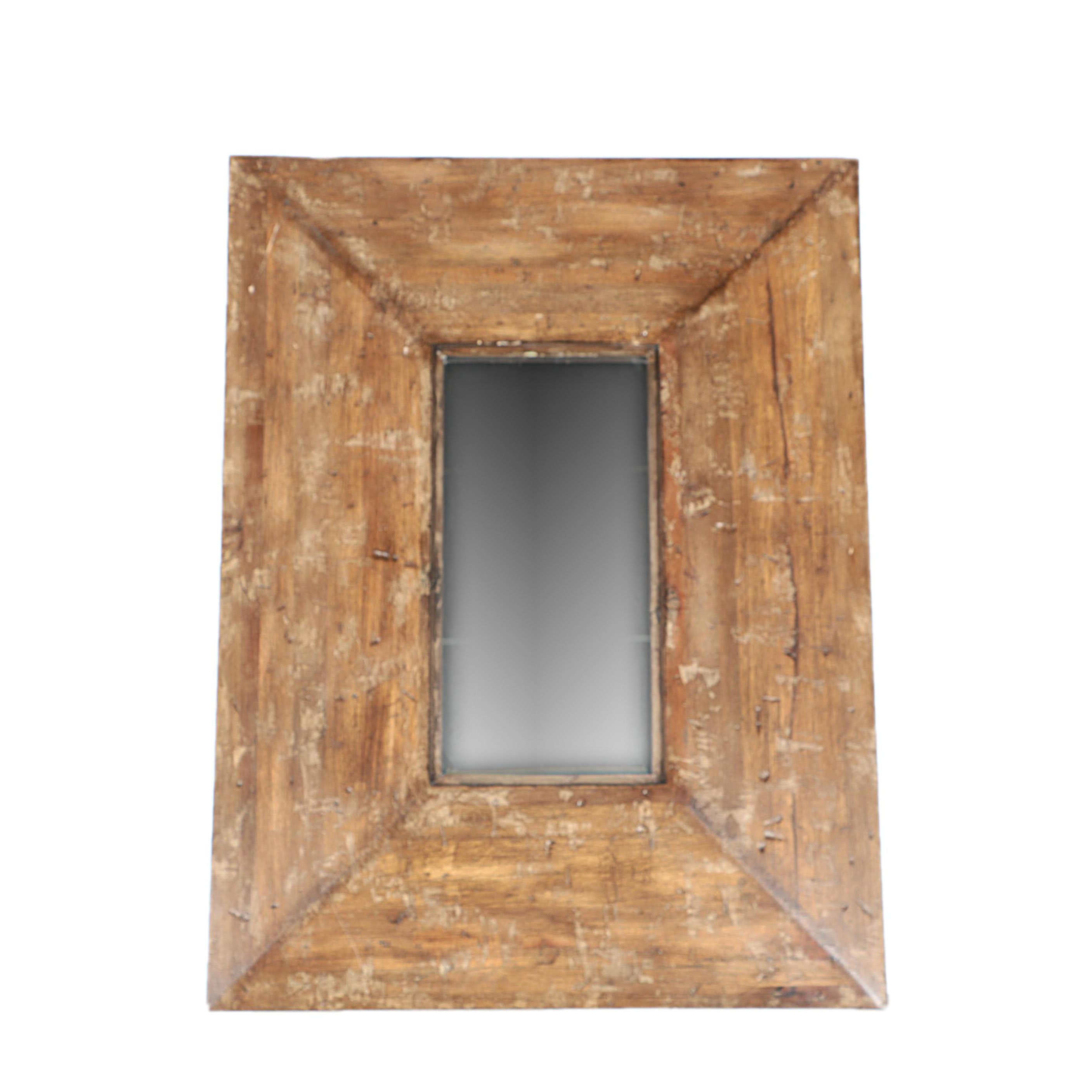 Thick Wood Framed Wall Mirror by Uttermost