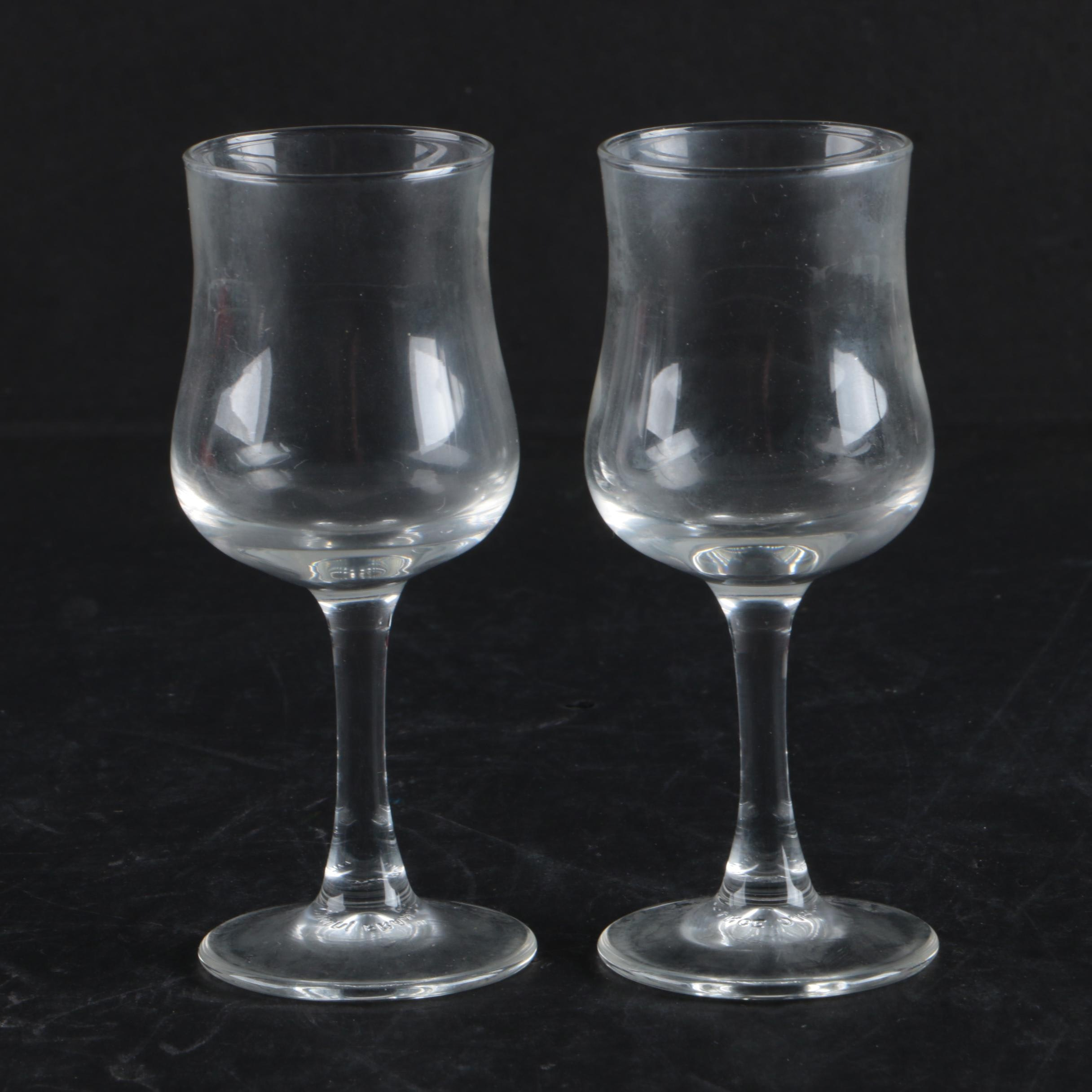 Luminarc Clear Cordial Glasses