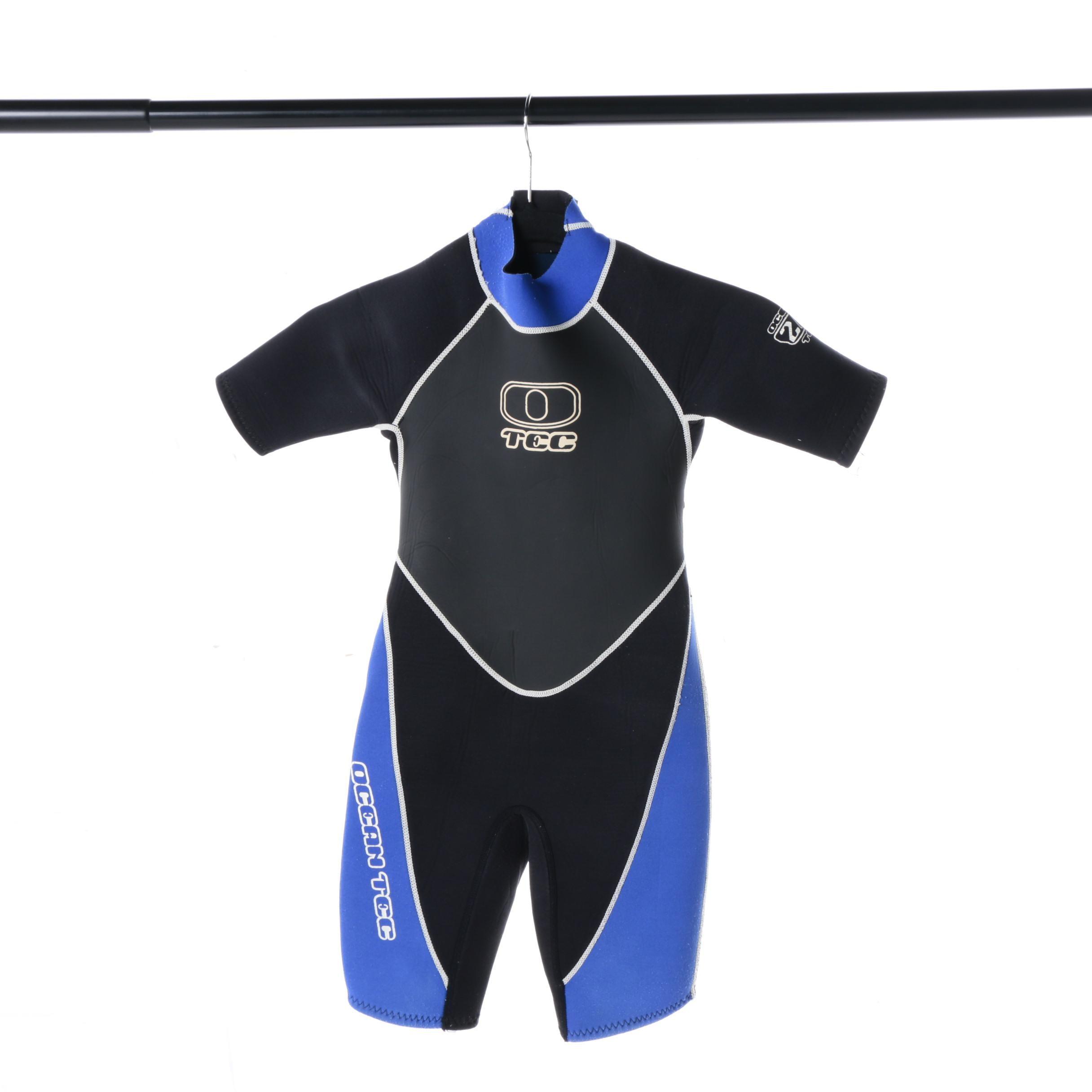 Ocean Tec 2/2 Children's Shorty Wet Suit