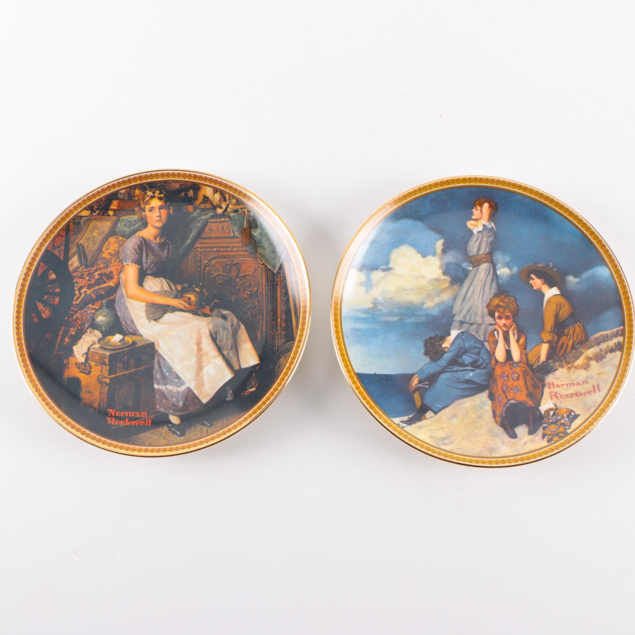 Knowles Norman Rockwell Limited Edition Collectors Plates