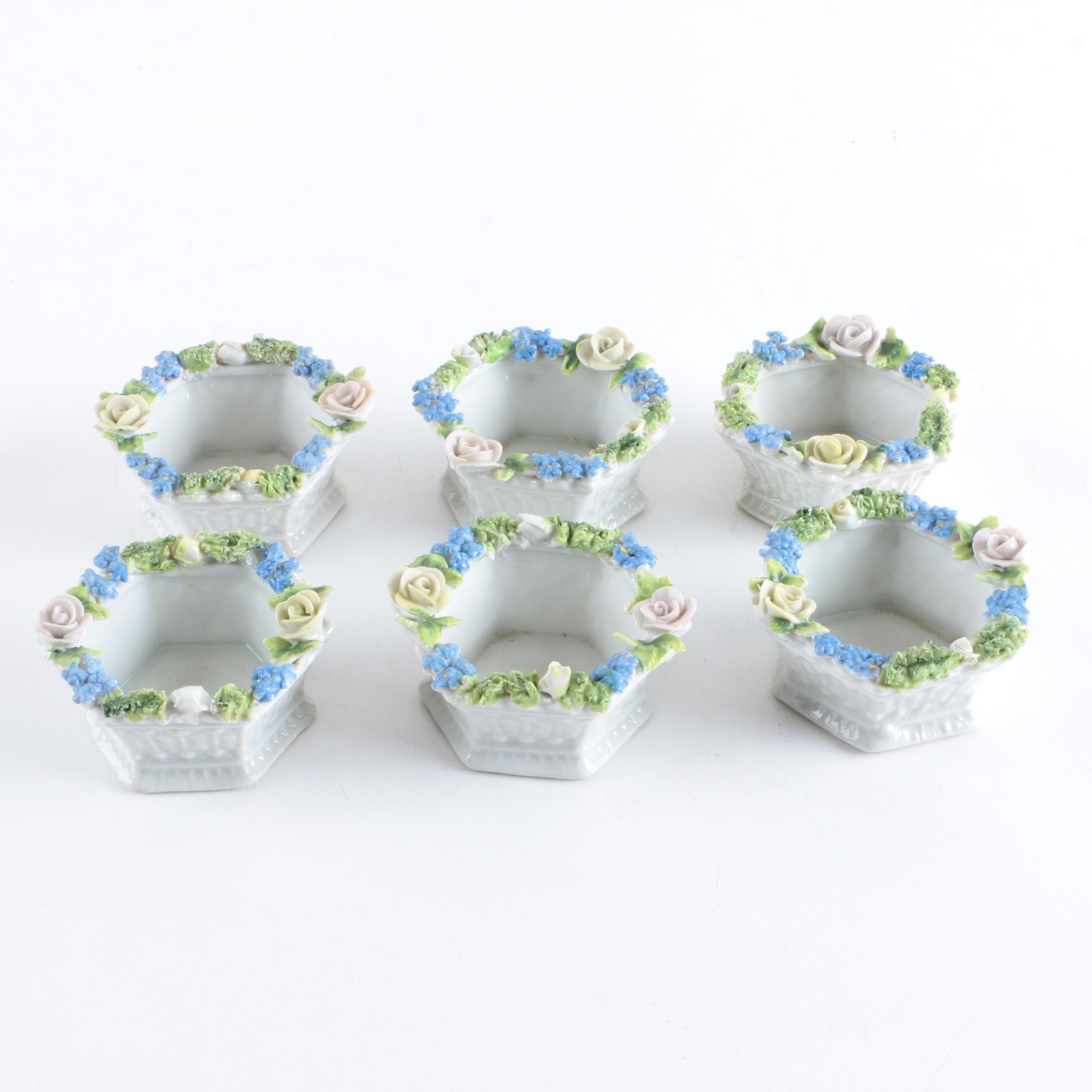 Elfinware Porcelain Salt Cellars