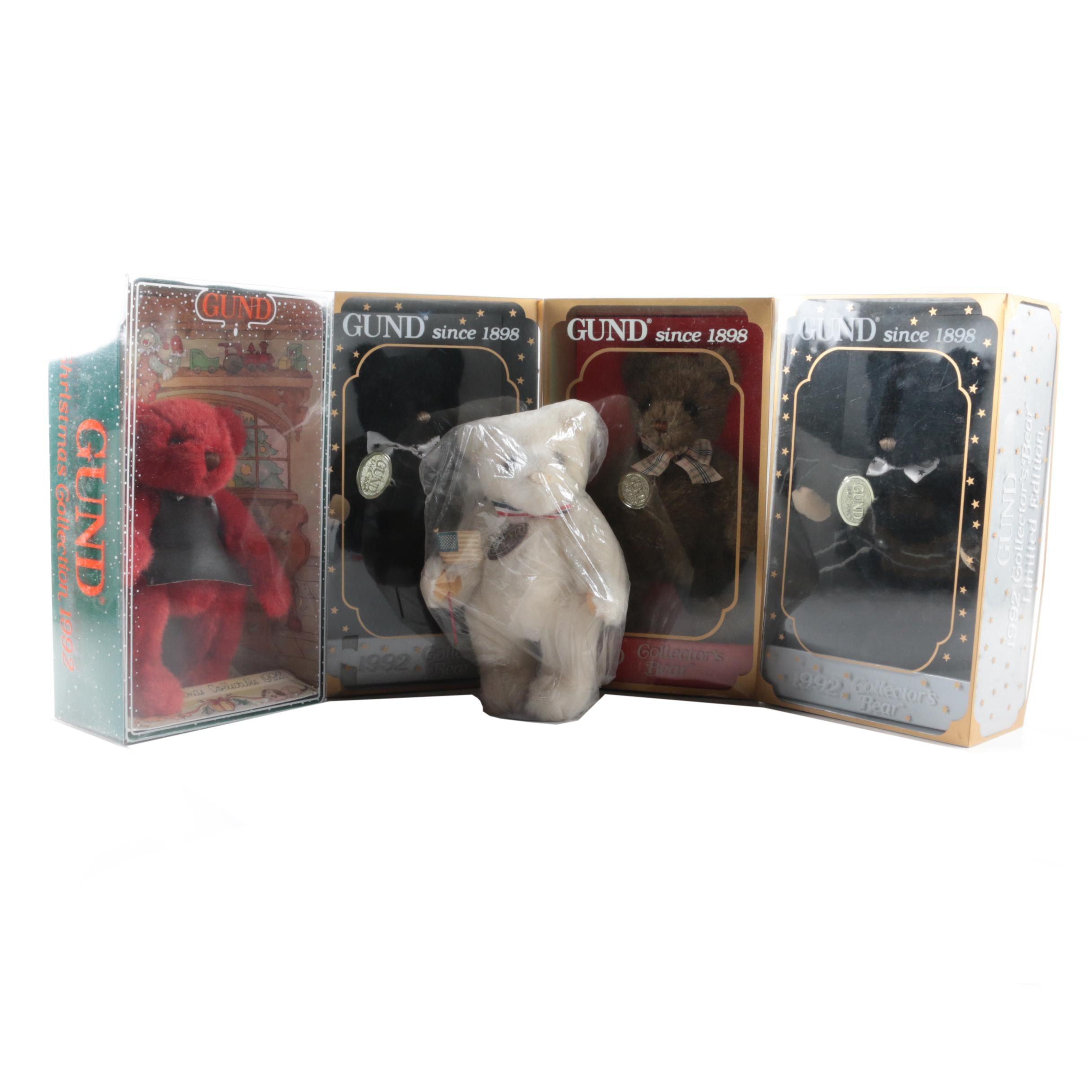 1990s Gund Limited Edition Teddy Bears