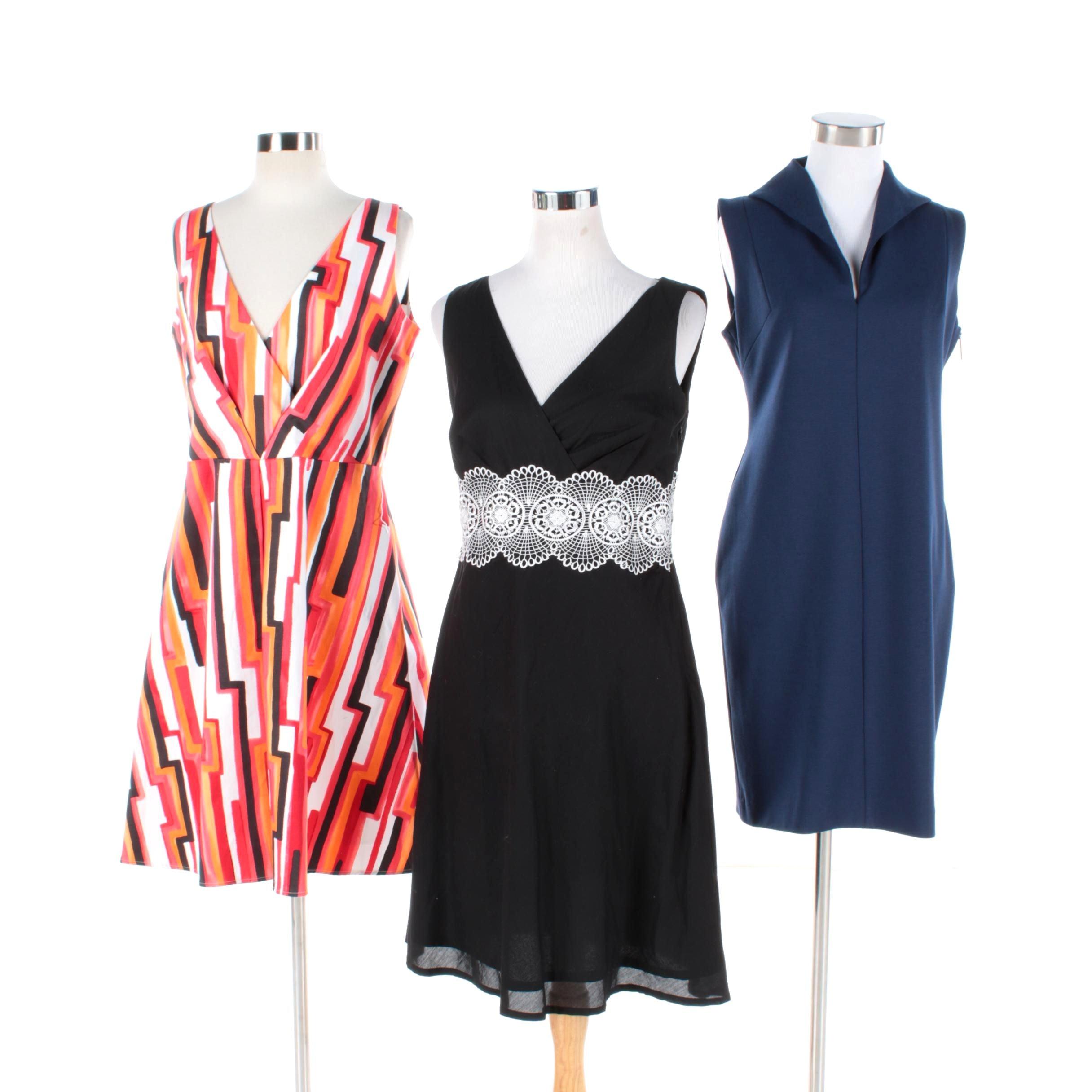 Catherine Malandrino, Calvin Klein and Ann Taylor Loft Sleeveless Dresses