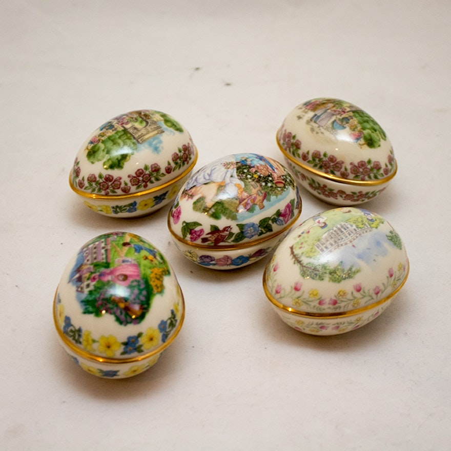 Lenox Porcelain Easter Eggs
