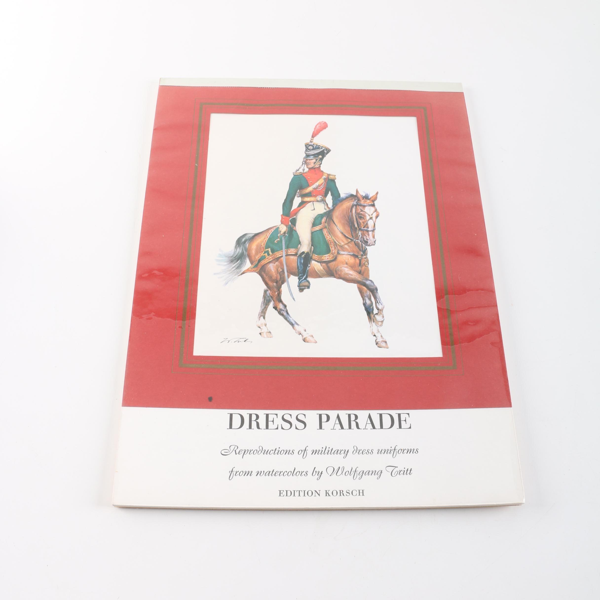"""1975 """"Dress Parade"""" Military Dress Uniforms Calendar"""