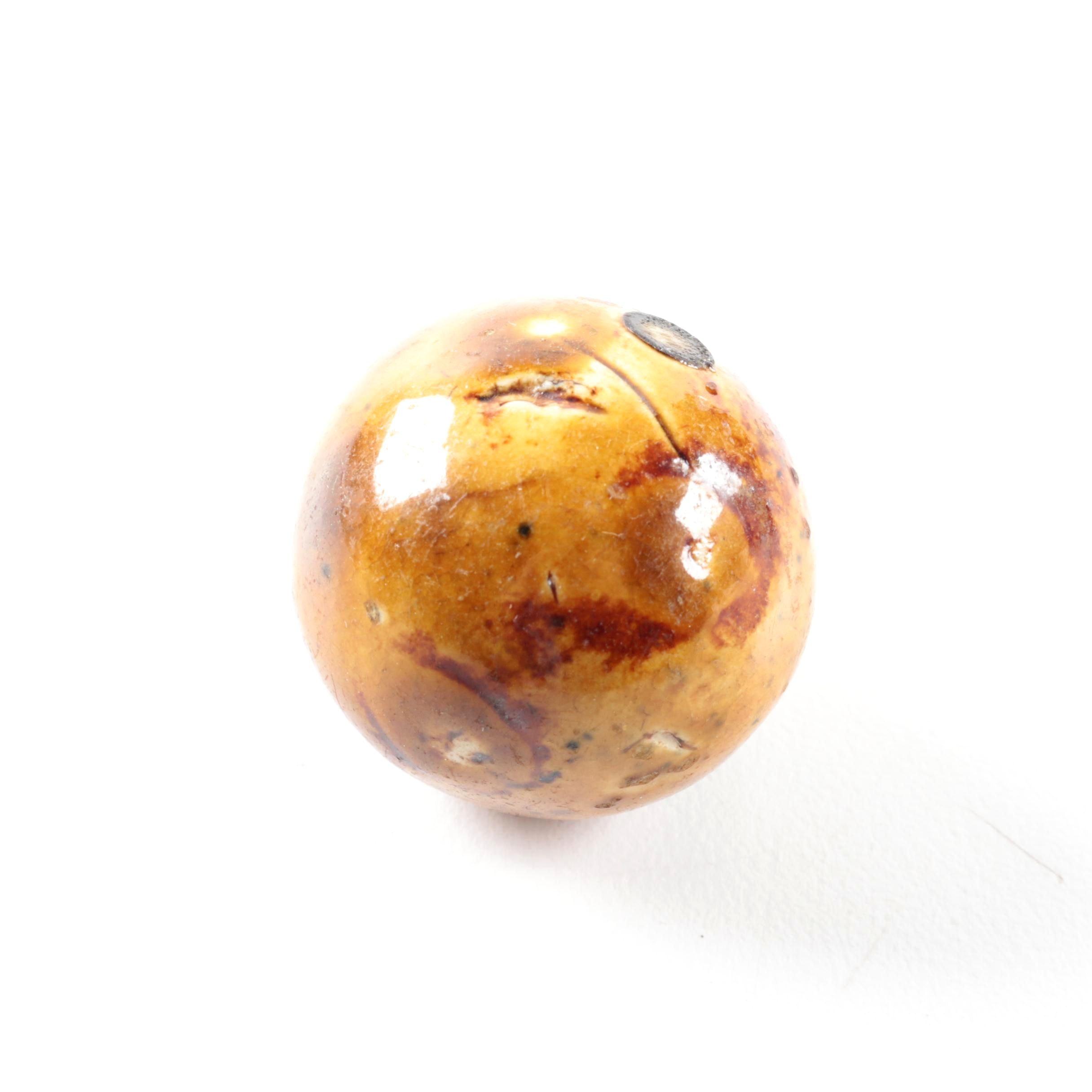Glazed Ceramic Bennington Marble