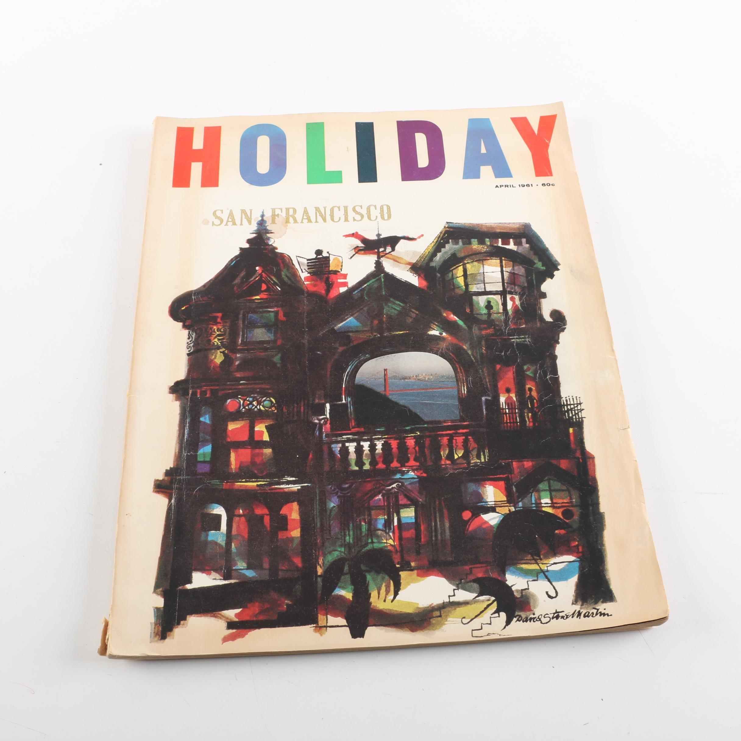 "April 1961 ""Holiday"" Magazine"