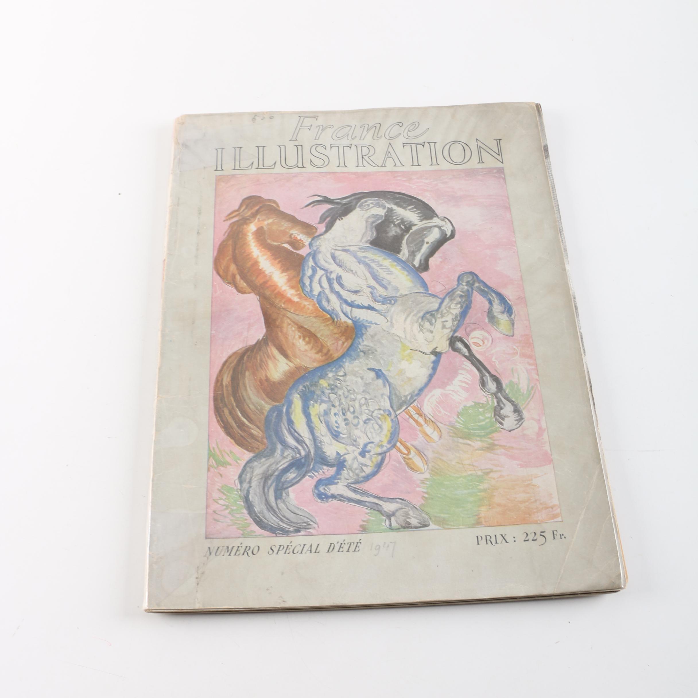 """1947 """"France Illustration"""" Magazine"""