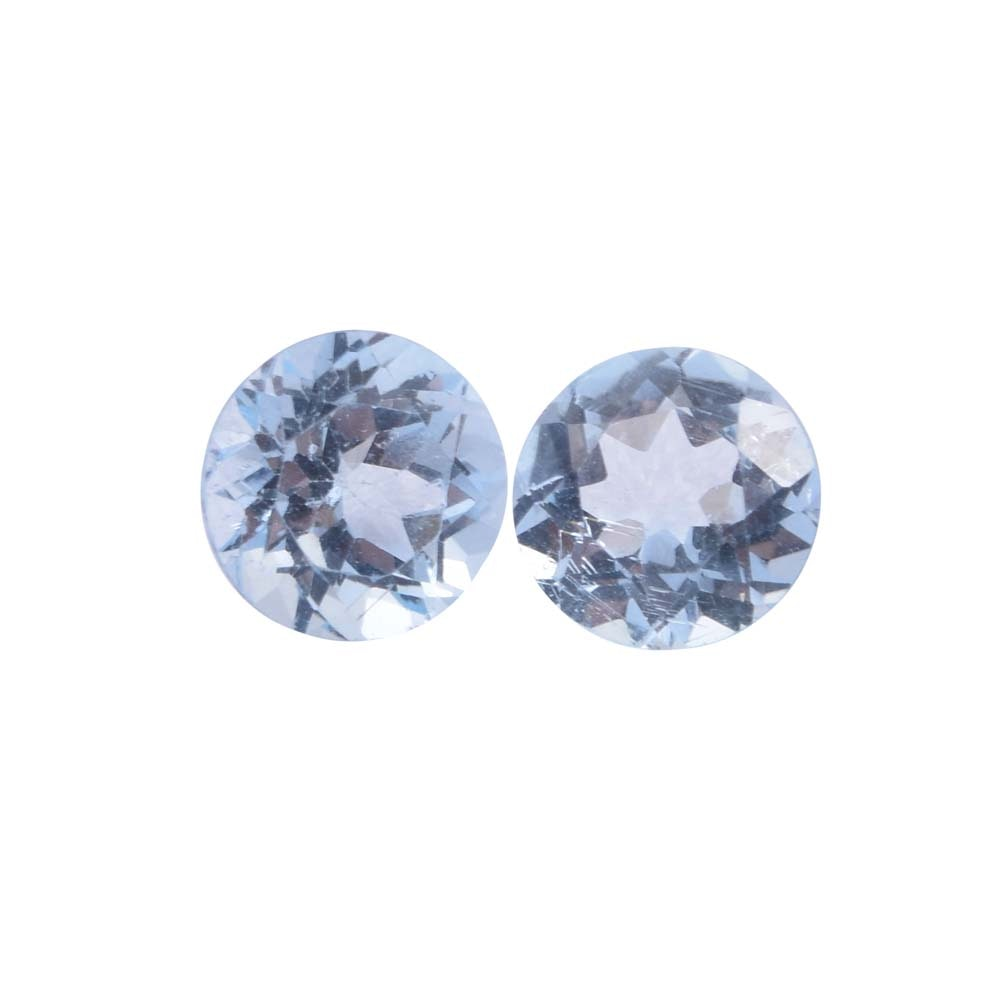 Loose 2.83 CTW Blue Topaz Gemstones