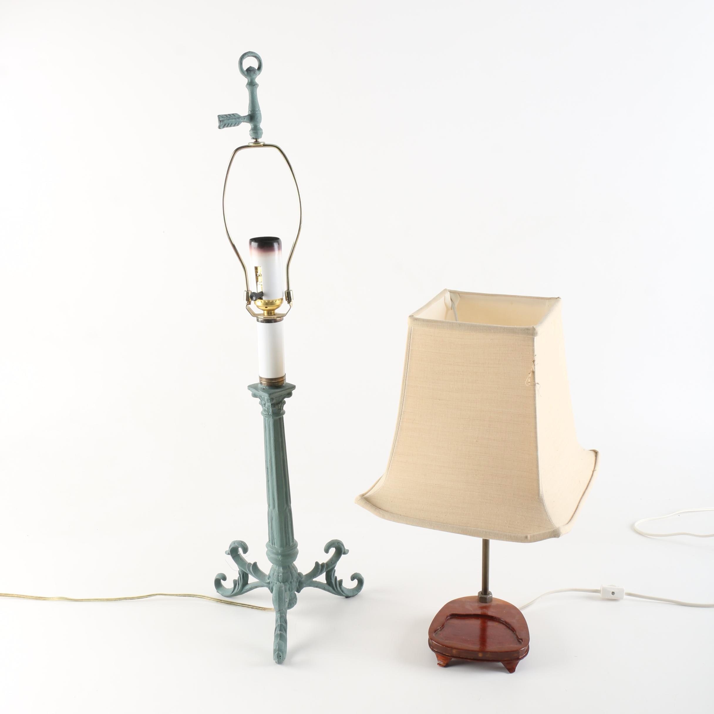 Accent Lamps with Shades