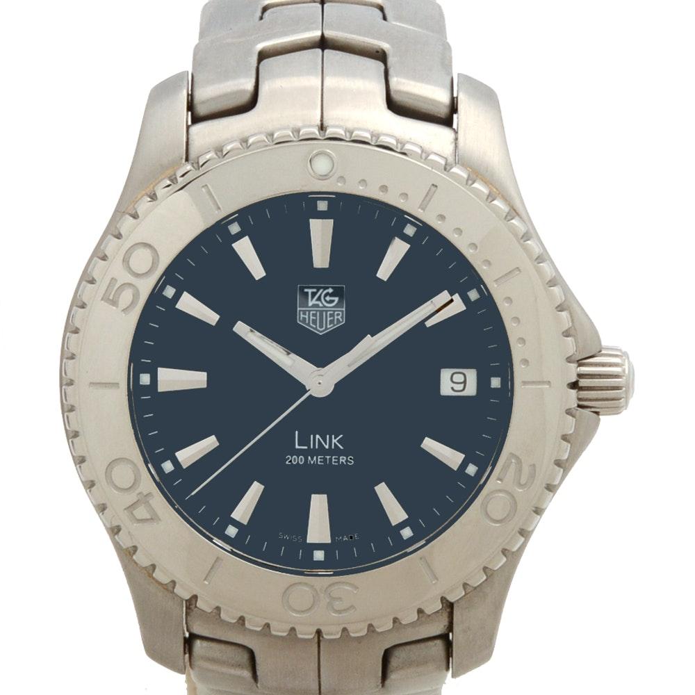 "TAG Heuer Stainless Steel ""Link"" Series Quartz Watch"