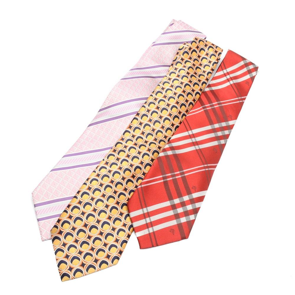 Silk Neckties including Burberry
