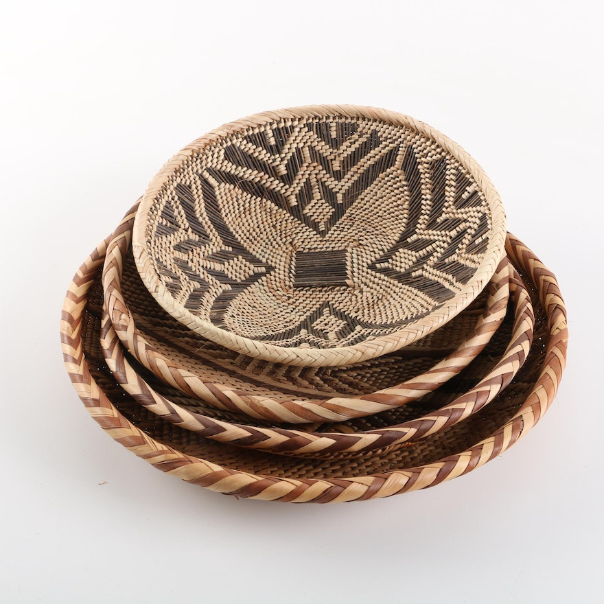 African Baskets: African Style Woven Baskets