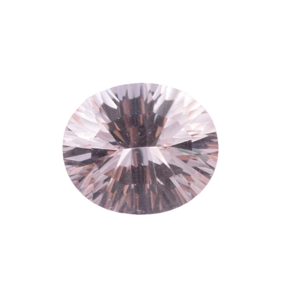 Loose 3.80 CT Morganite Gemstone
